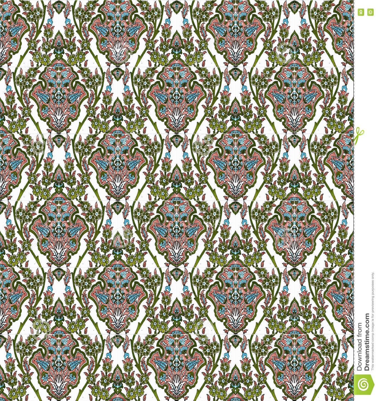 Iznik Fliesen Muster Stockfoto Bild Von Ramadan Floral 80953034