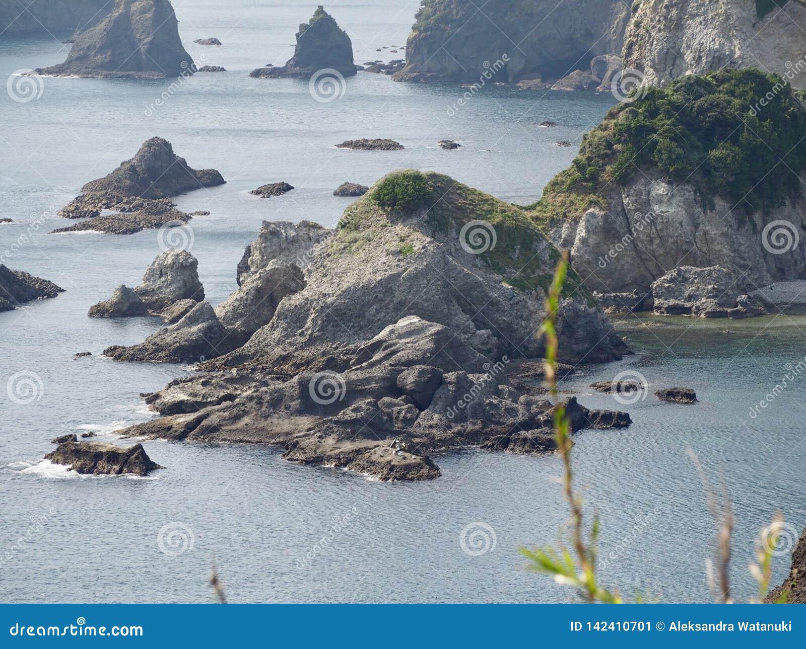 Picturesque Coast of Izu Peninsula