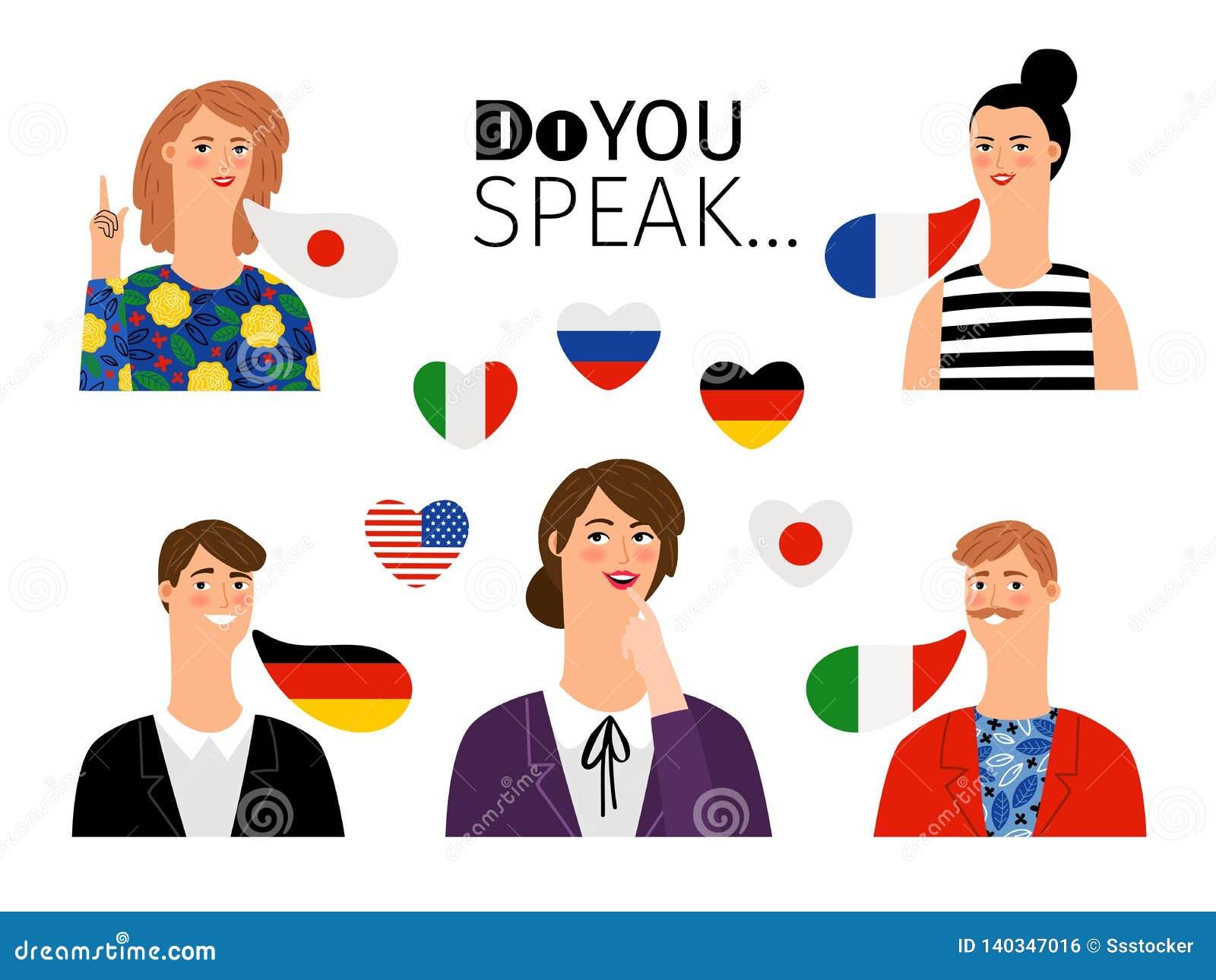 Język obcy szkoły persons