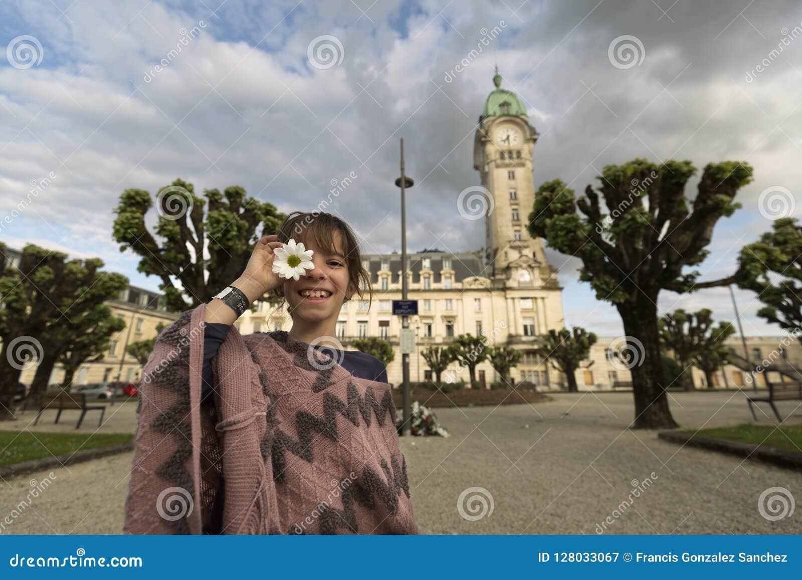 11-jährige Spanierin vor dem Limoges