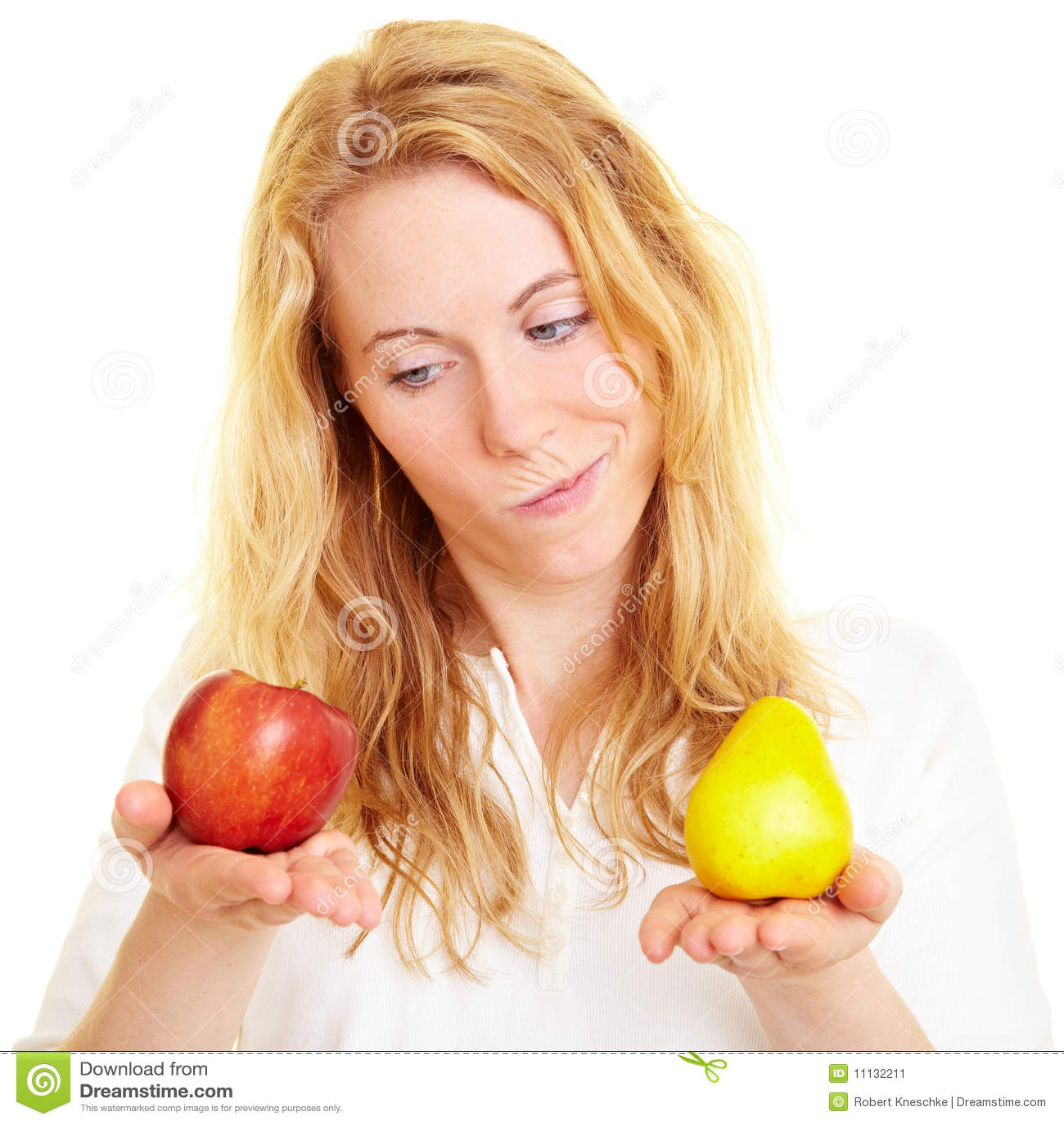 Jämföra frukter