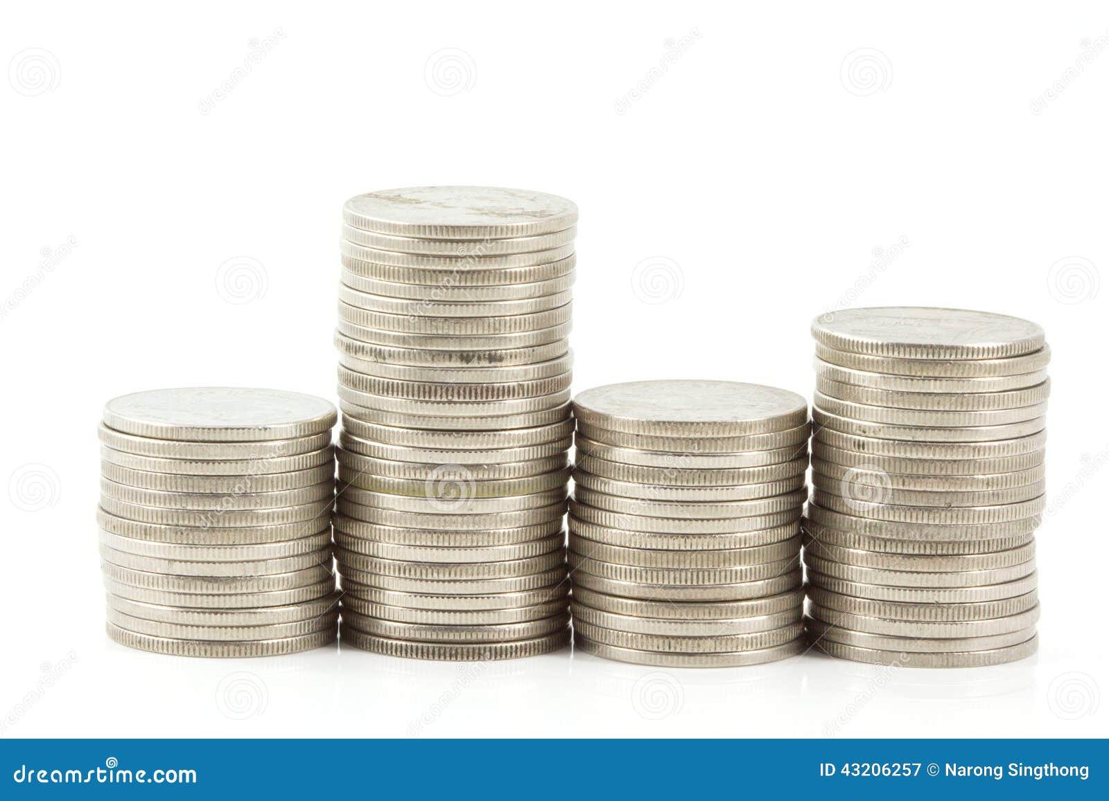 Download Jämnt mynt stock illustrationer. Illustration av rikedom - 43206257