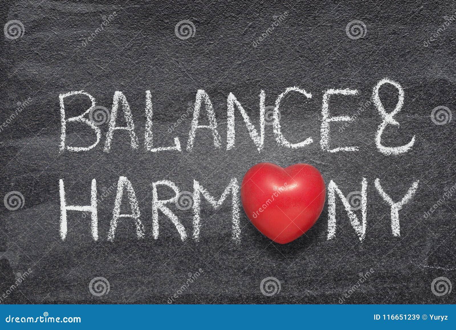 Jämvikts- och harmonihjärta