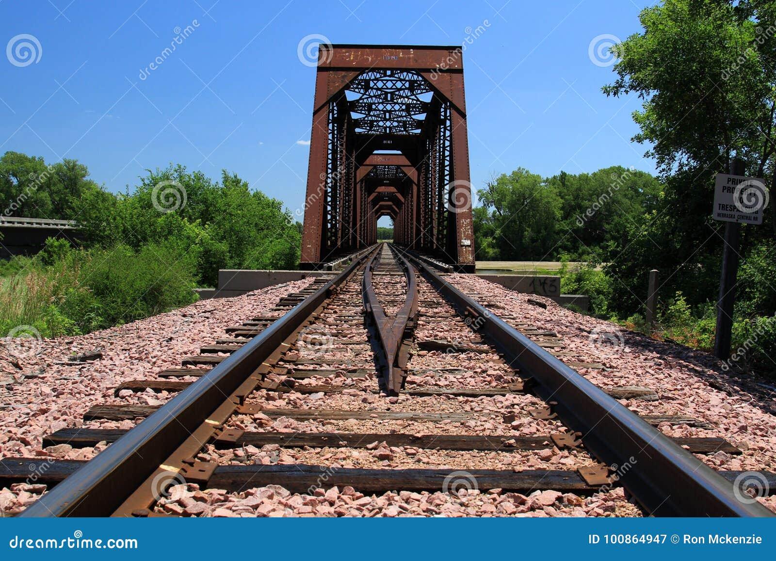 Järnjärnvägbro