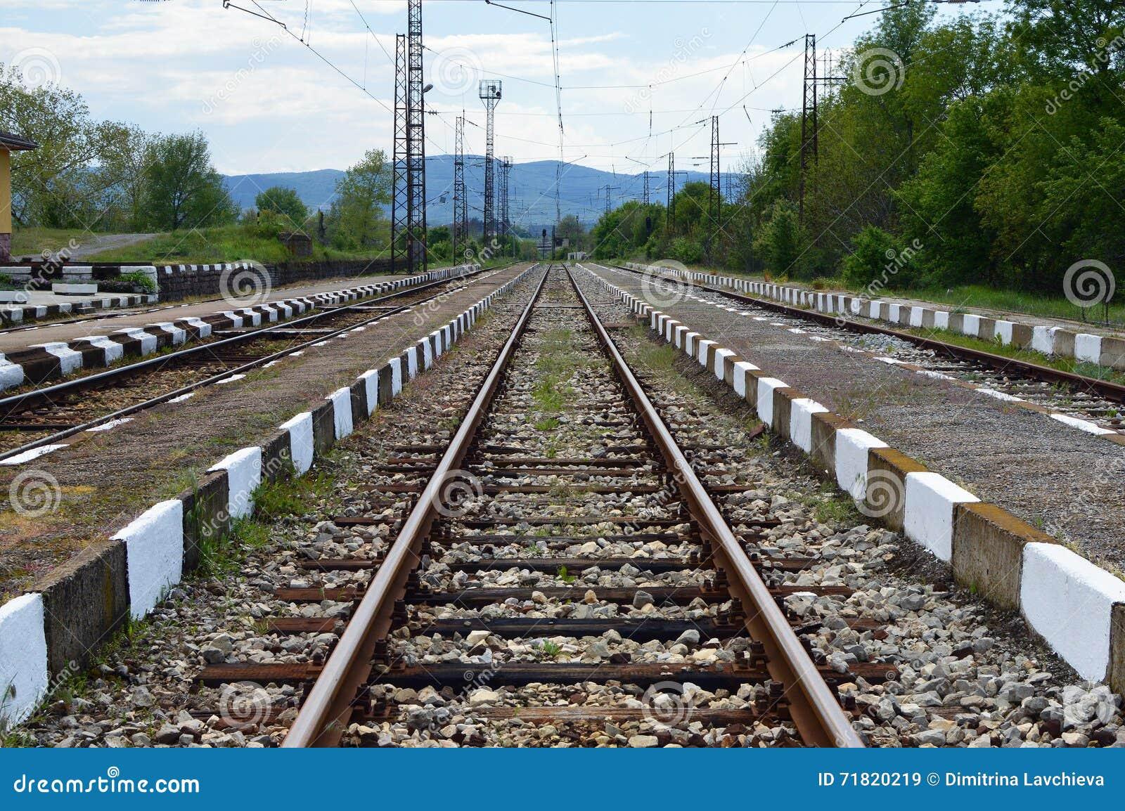 Järnväg liten station