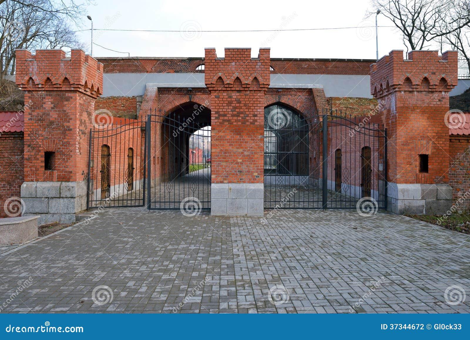 Järnväg port. Kaliningrad