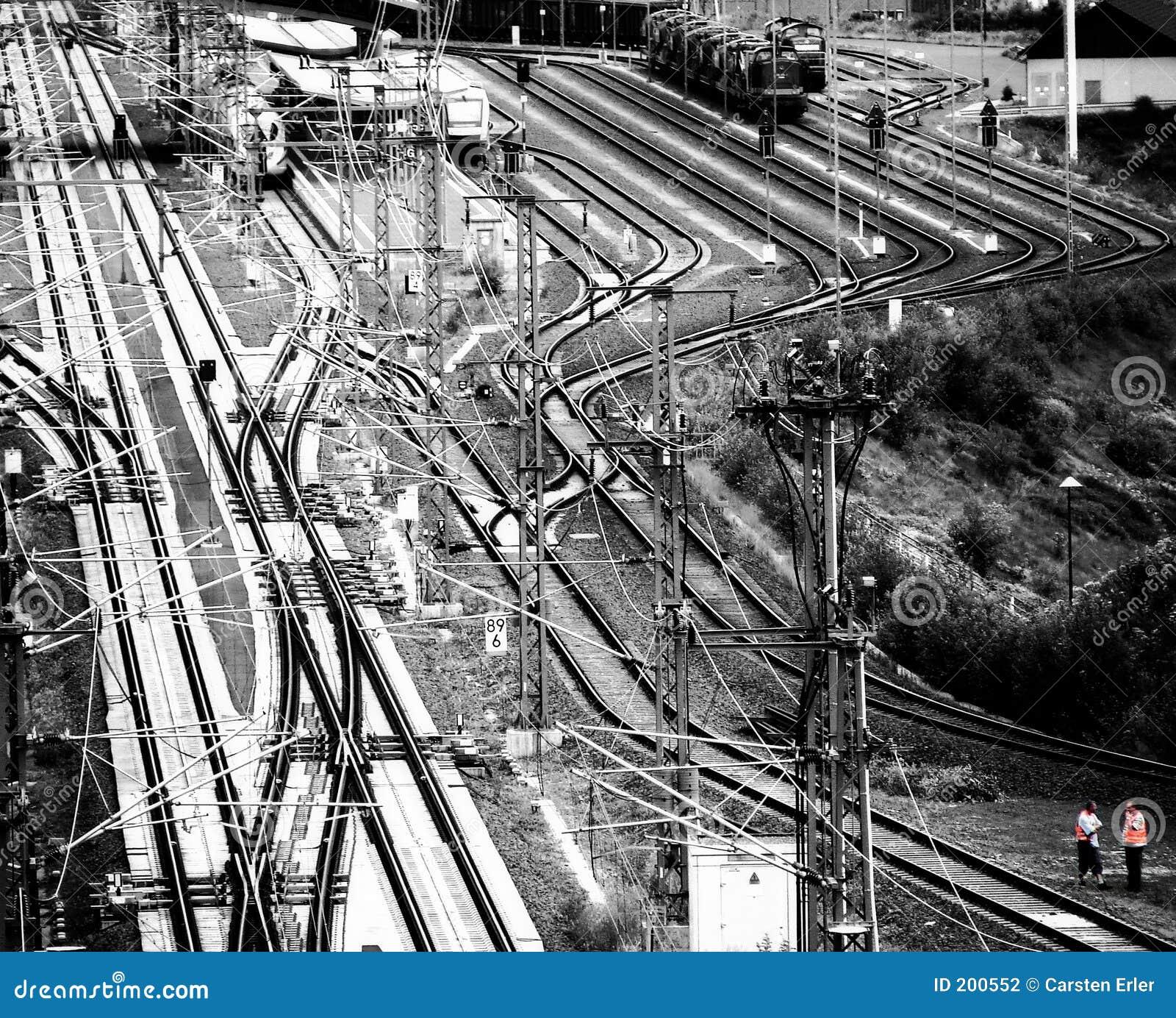 Järnväg station