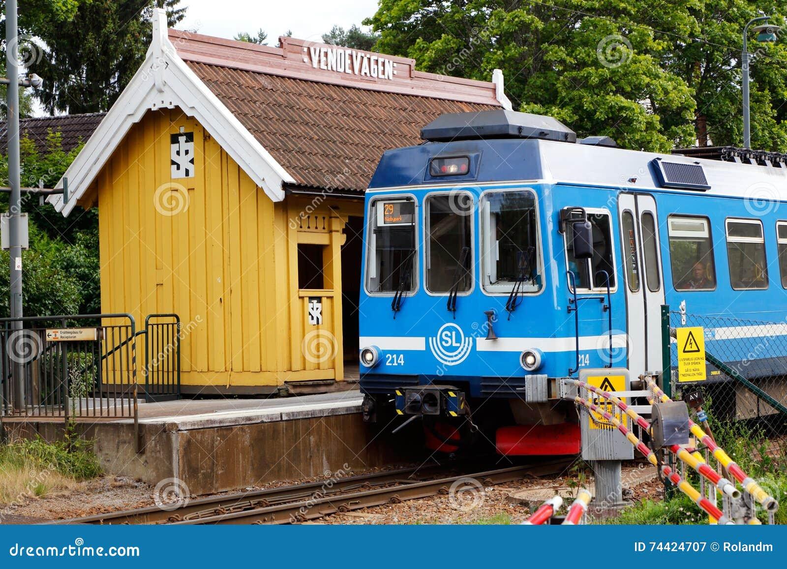 Järnvägstation Vendevagen