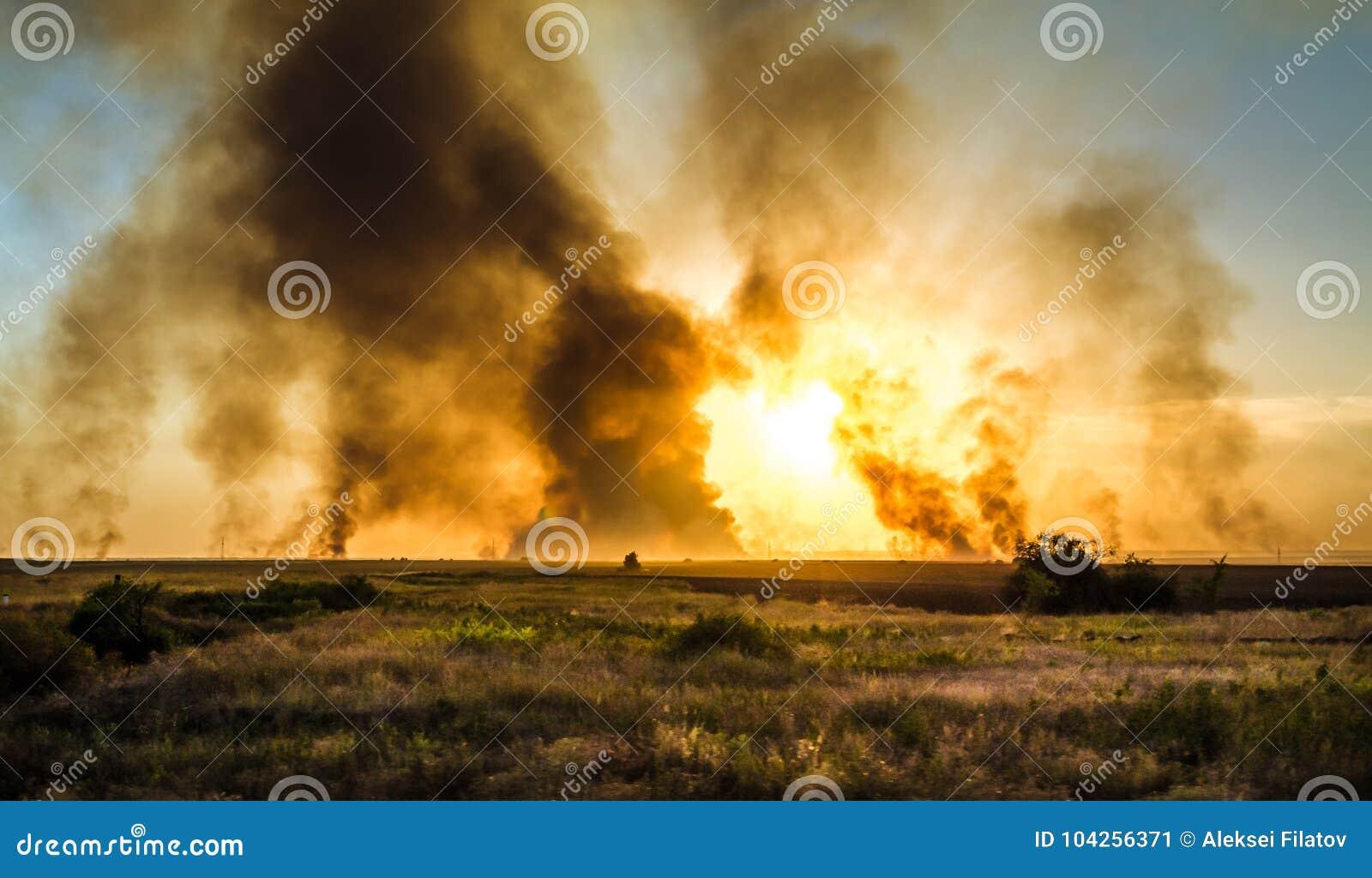 Jätte- explosion