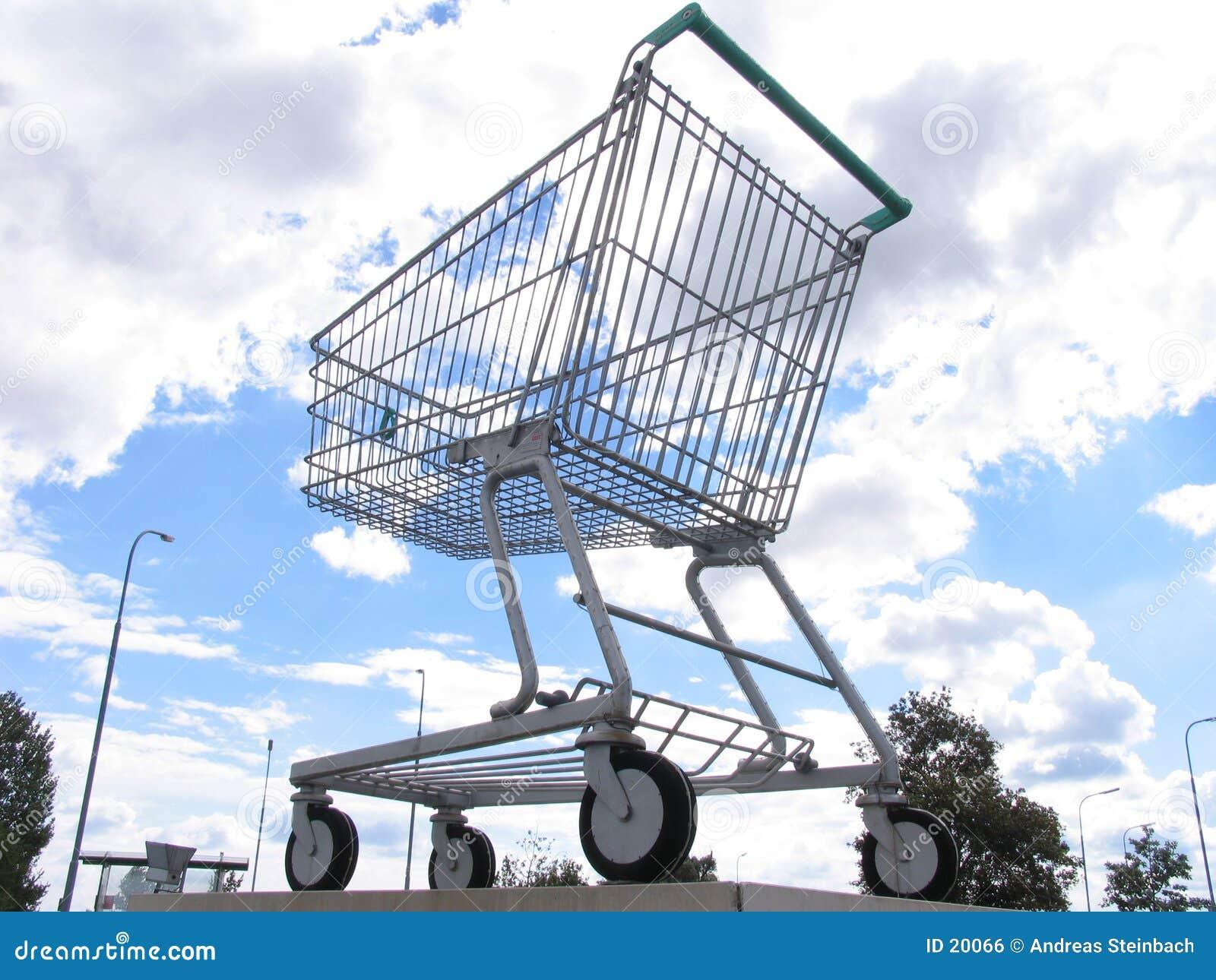Jätte- shopping för vagn