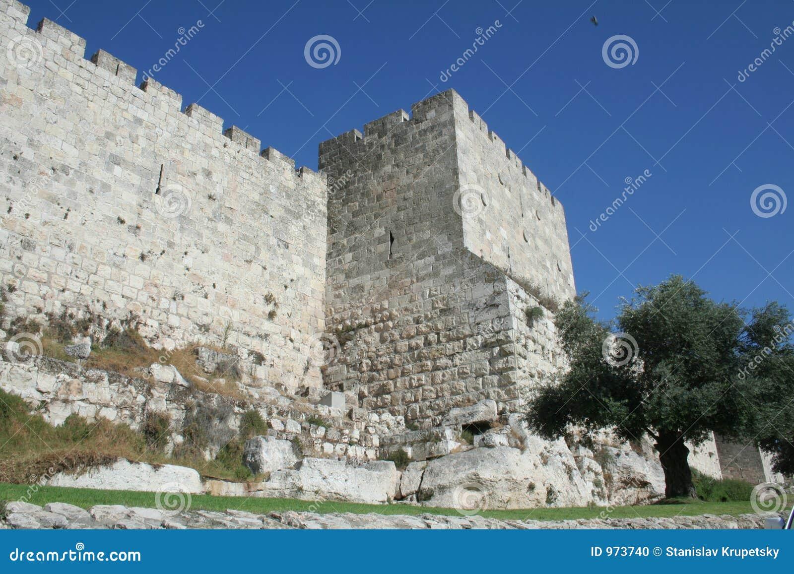 Jérusalem-Murs de vieille ville