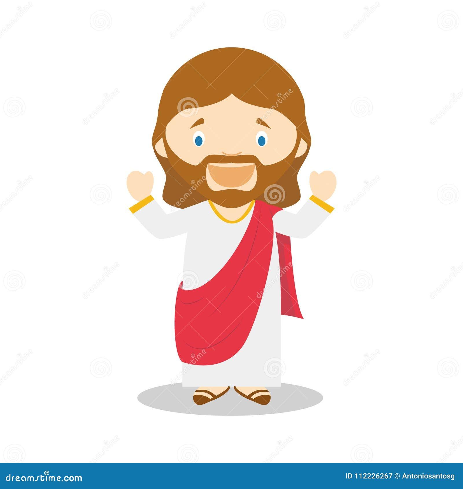 Jésus De Personnage De Dessin Animé De Nazareth ...