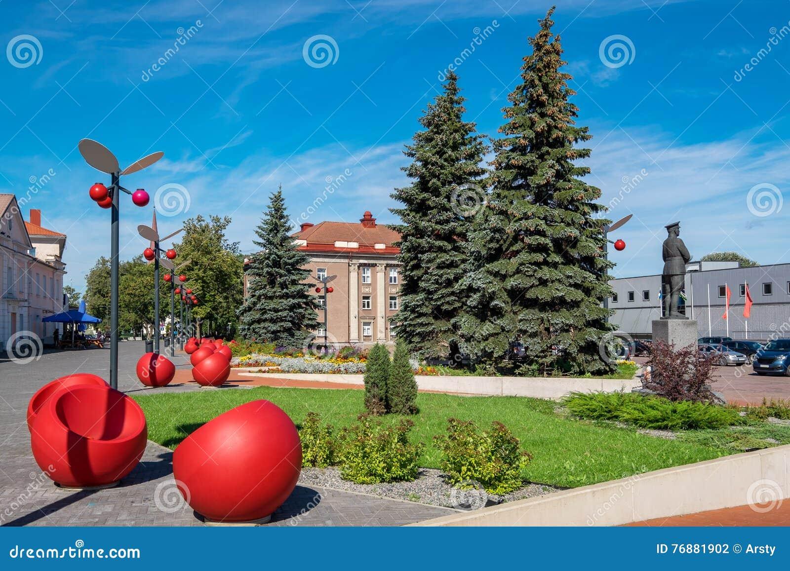 Johvi Town Estonia Stock Photo Image 76881902