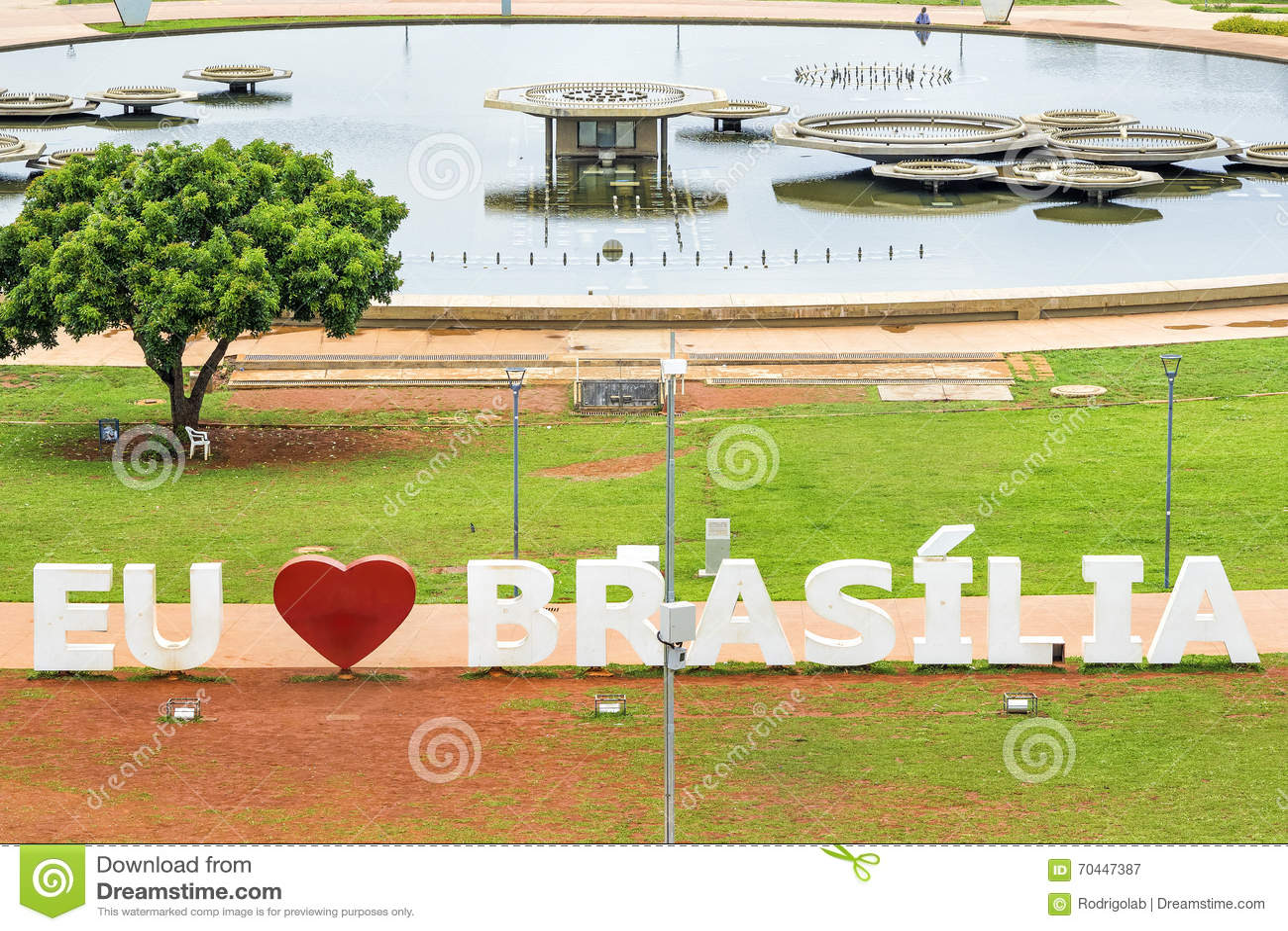 J aime le connexion Brasilia, capitale de Brasilia du Brésil