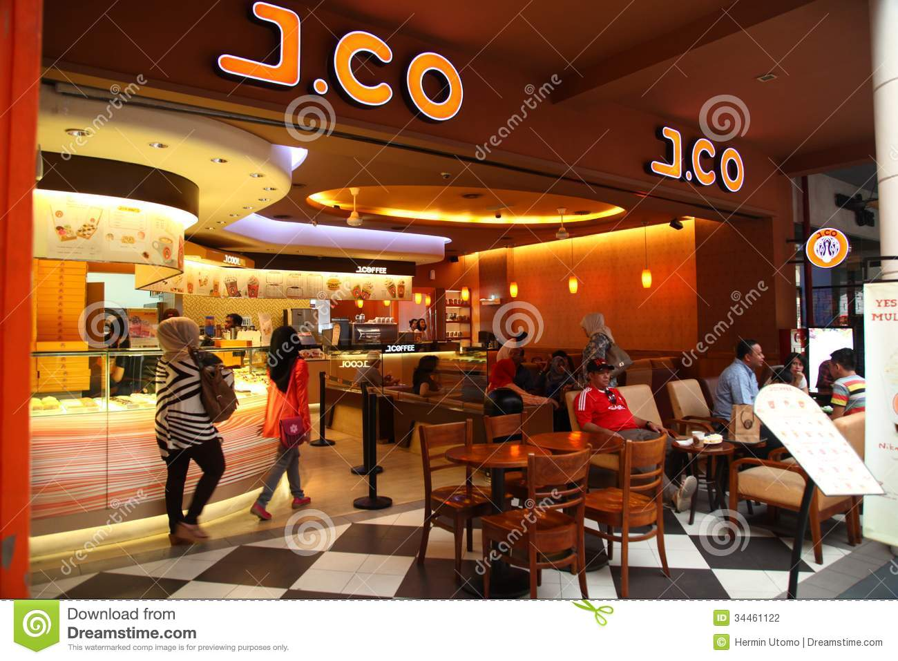 J co donuts coffee