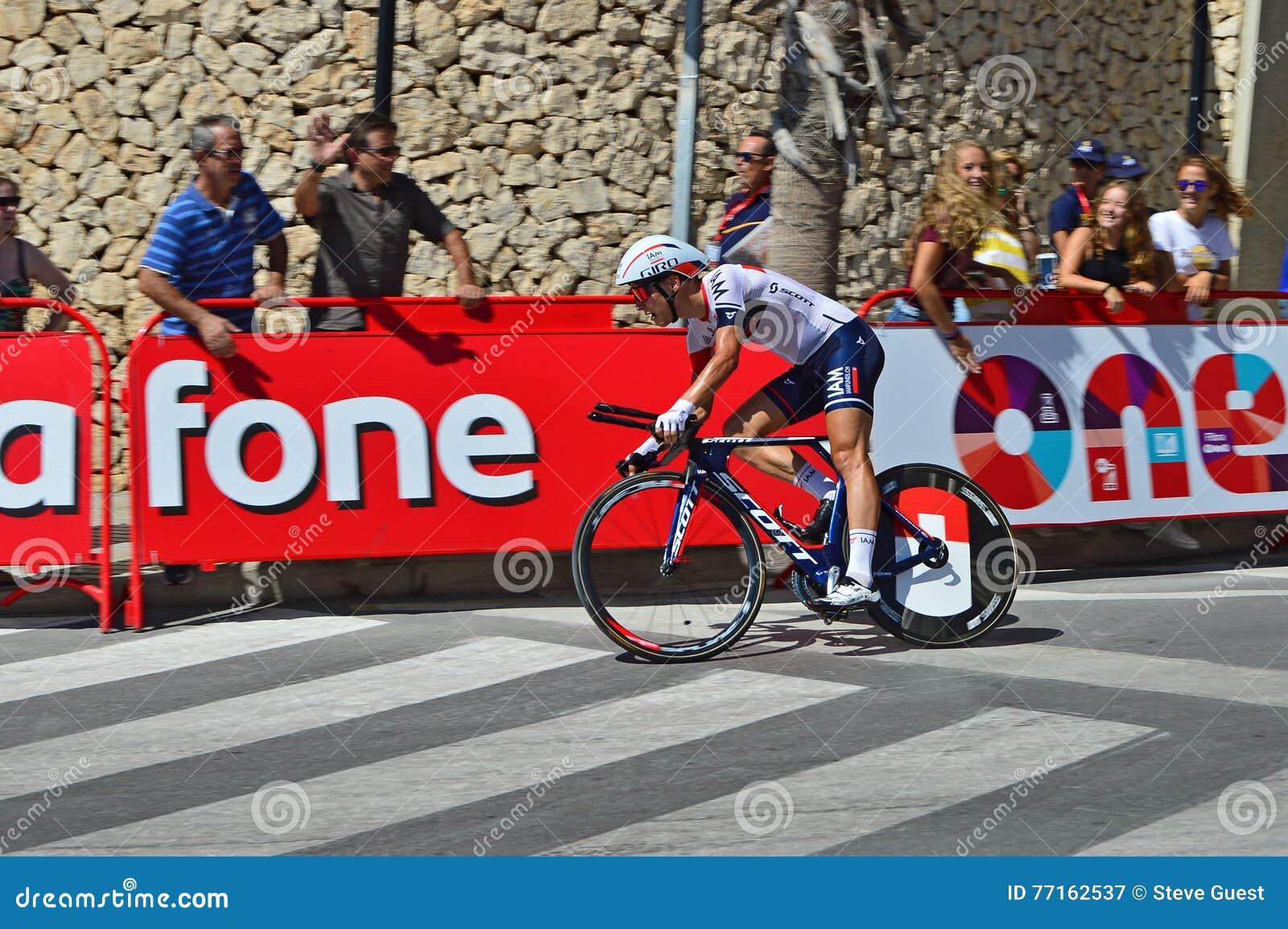 J emballe le procès de temps de Vuelta Espana de La