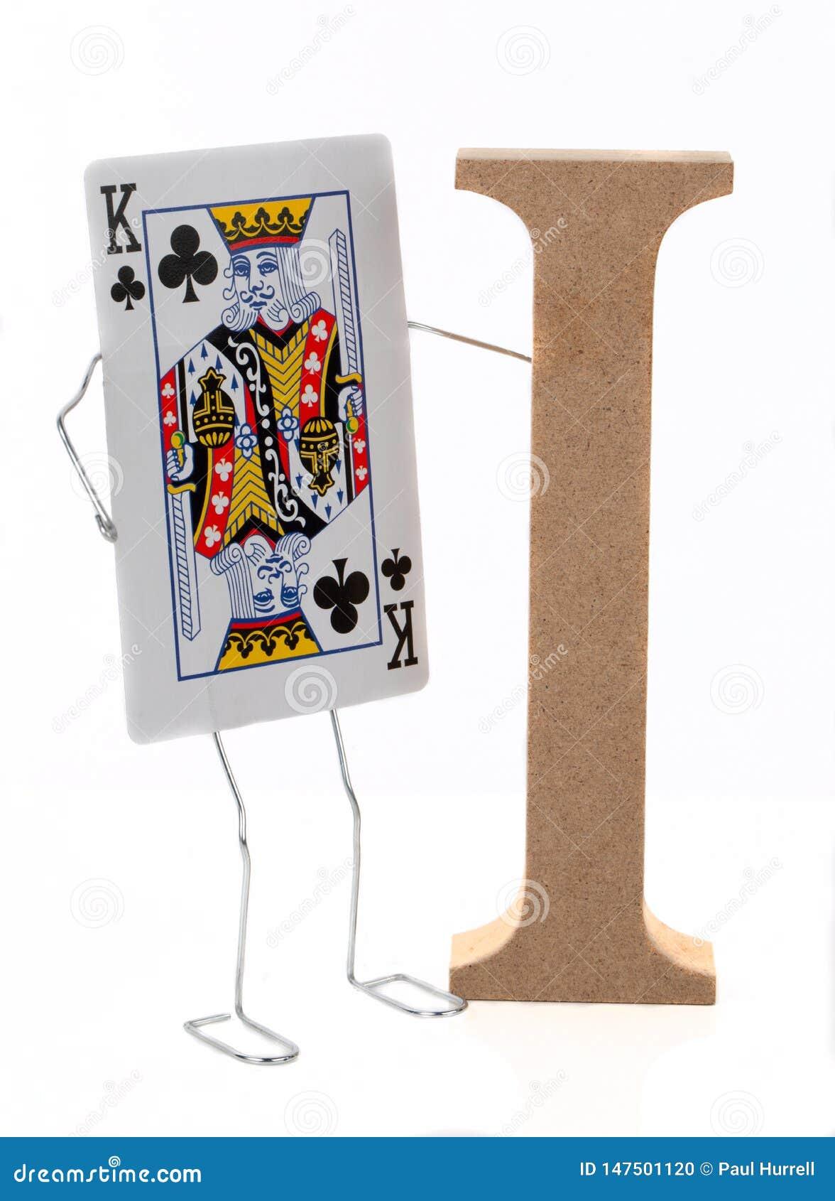 Ja i królewiątko karta do gry