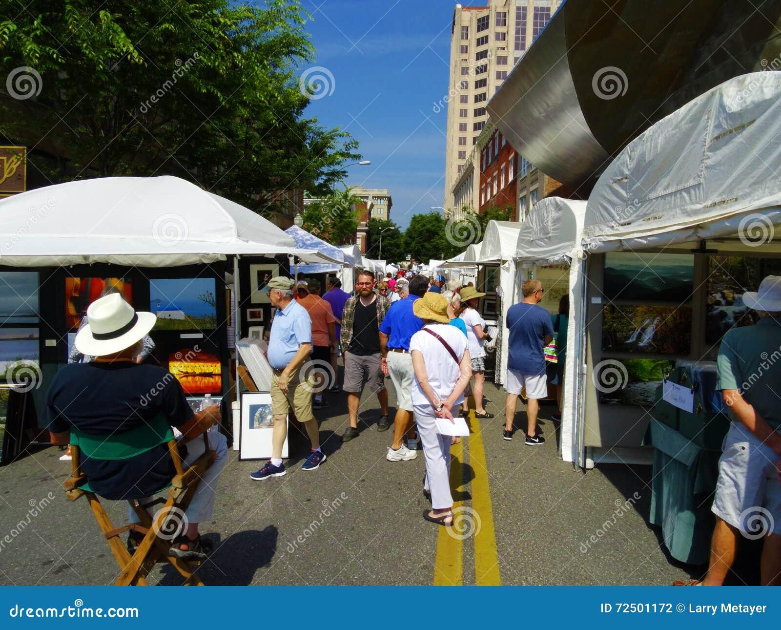 """Jaarlijkse Stoep Art Show †""""Roanoke, VA"""