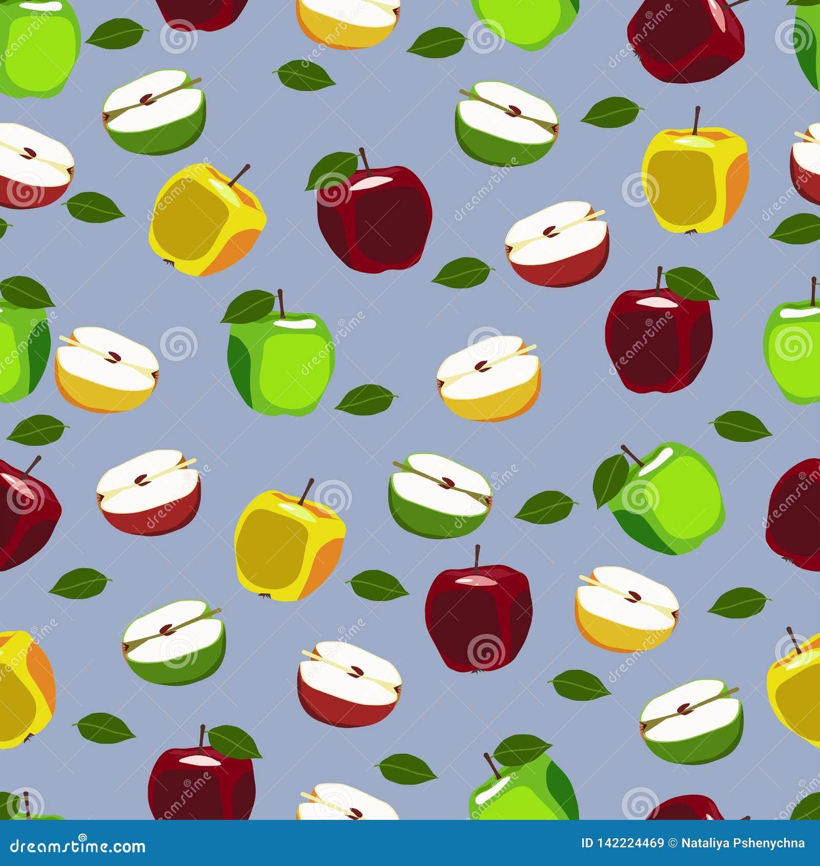 Jabłczana owoc powtarzający wzór