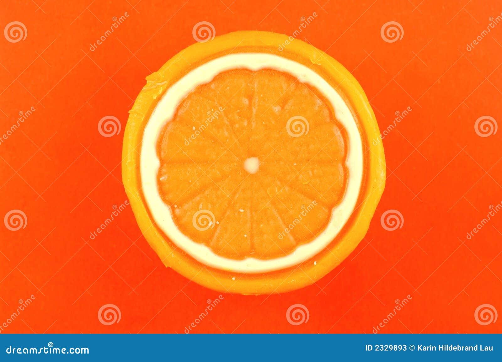 Jabón anaranjado