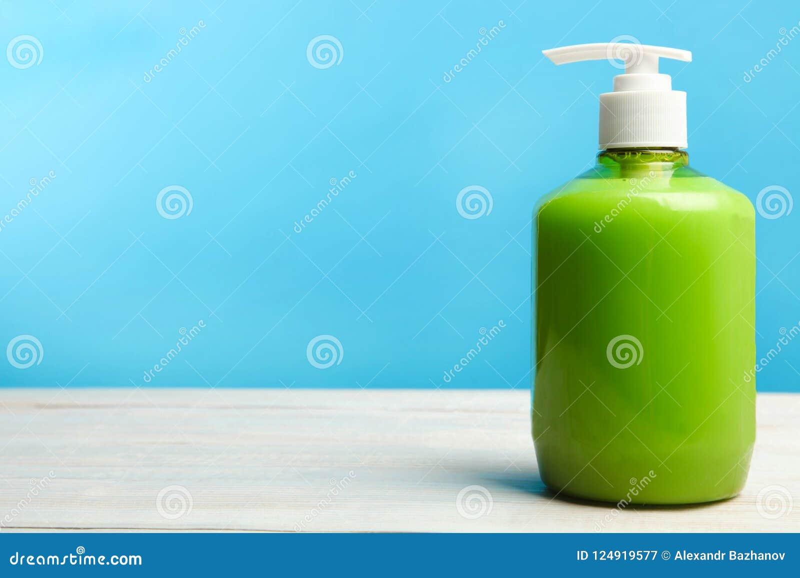 Jabón líquido de la mano