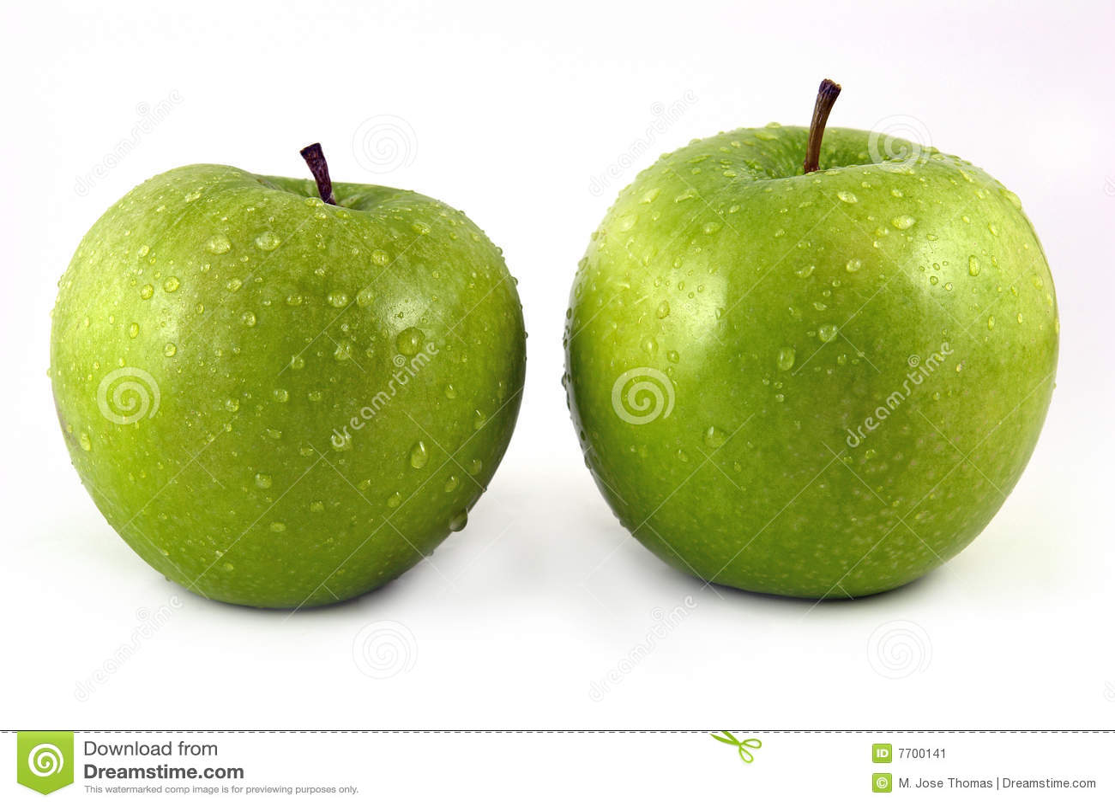 Jabłczana kropelki zieleni woda