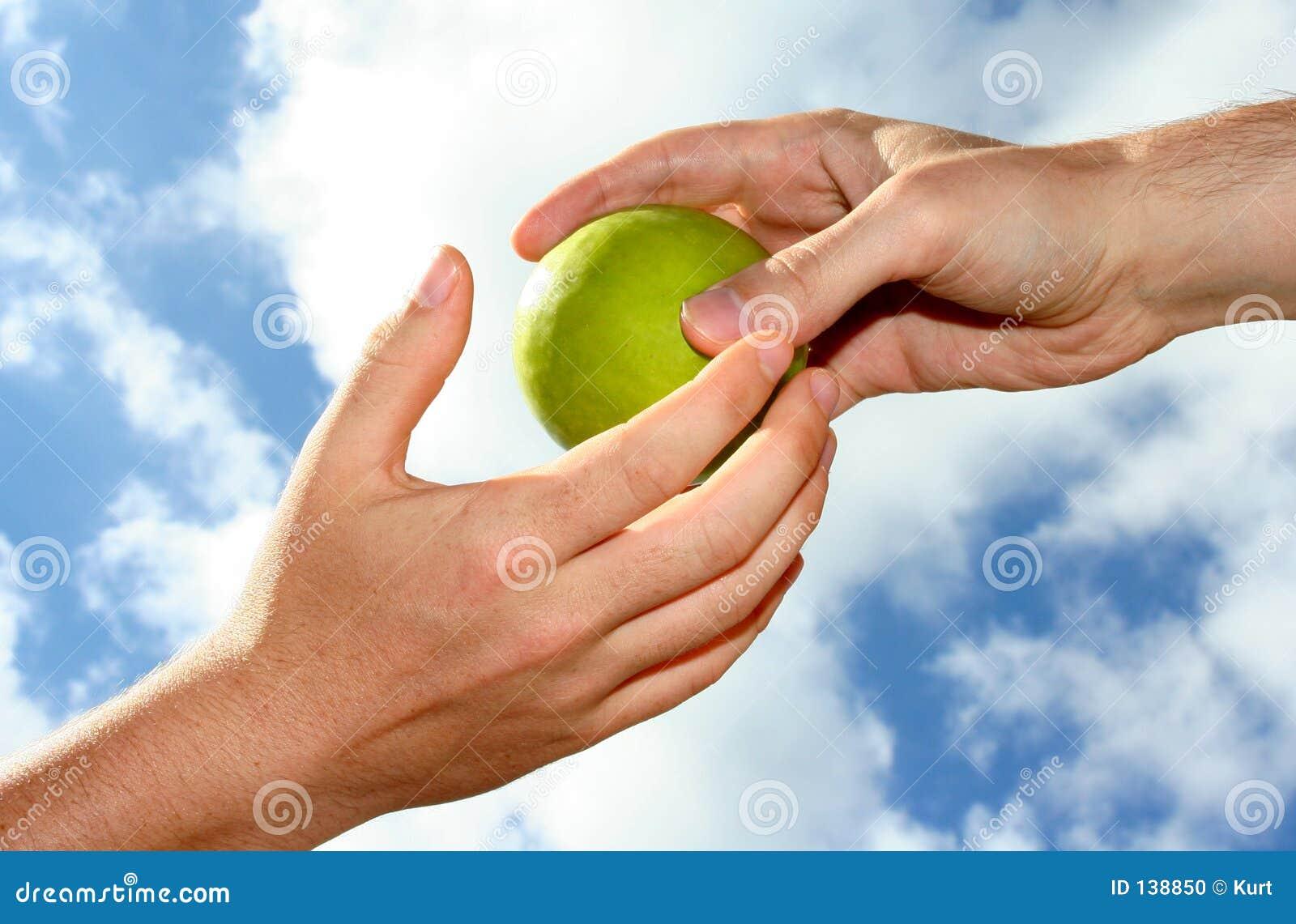 Jabłczana ręka