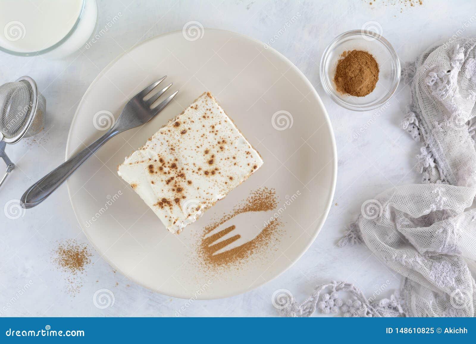 Jabłczanego kumberlandu tort z owies skorupą