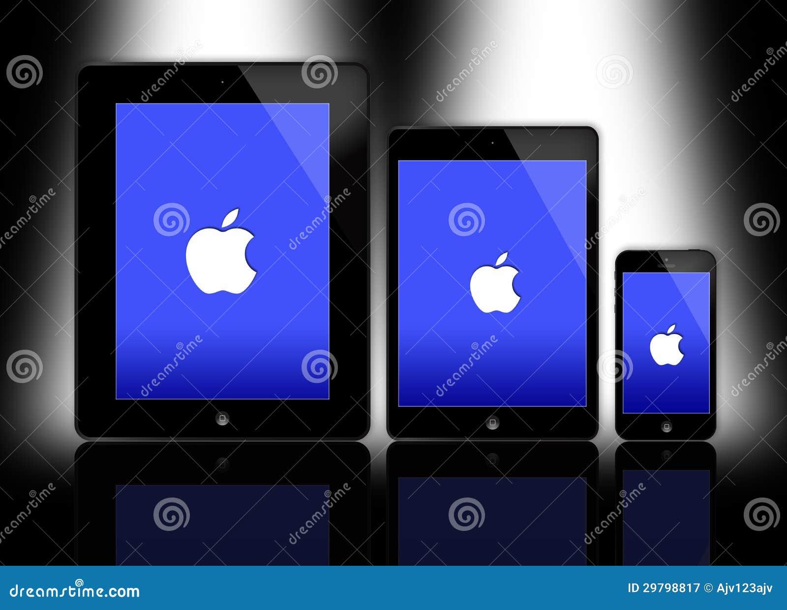 Nowy Jabłczany ipad i iphone