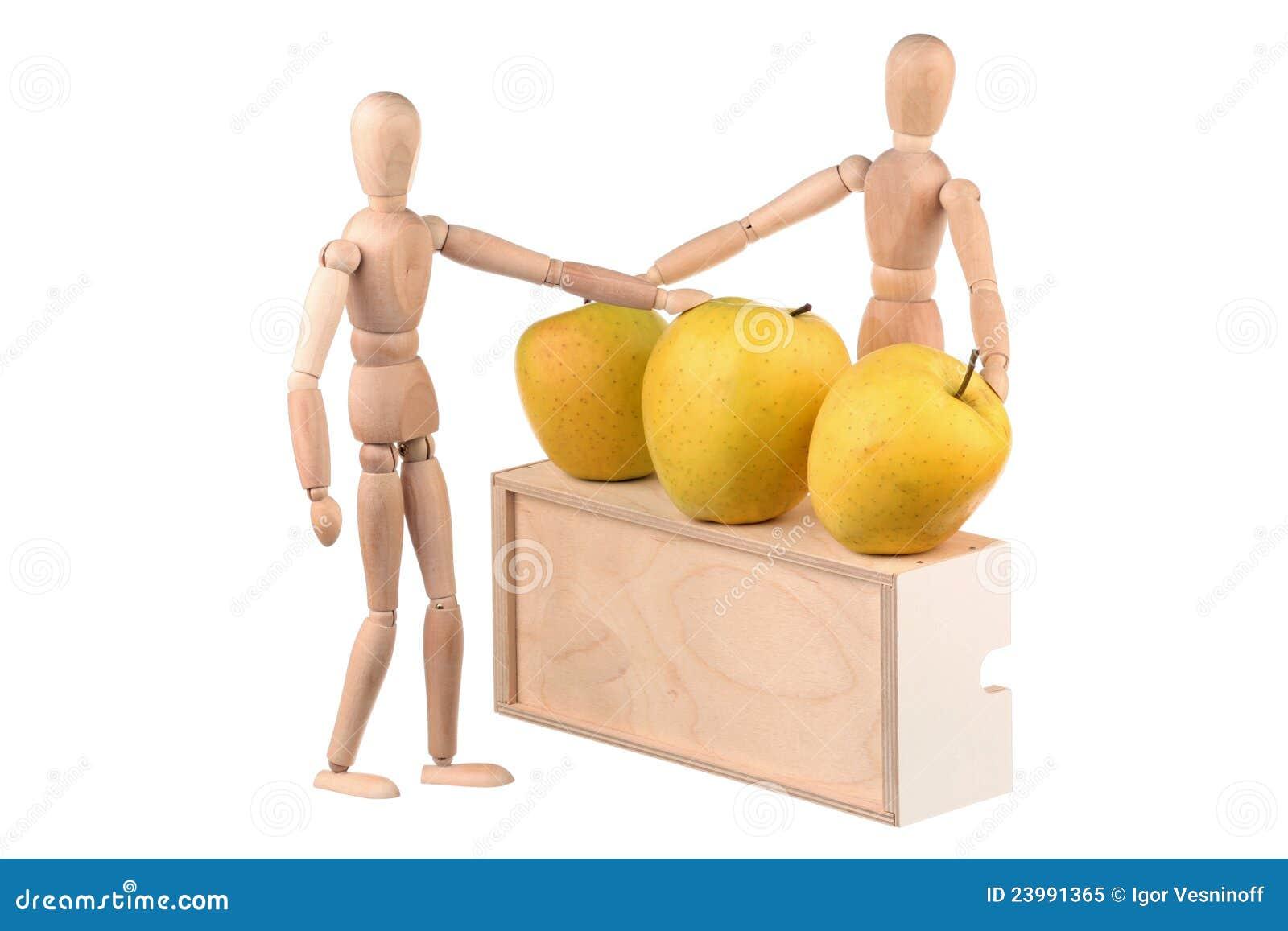Jabłko atrapy