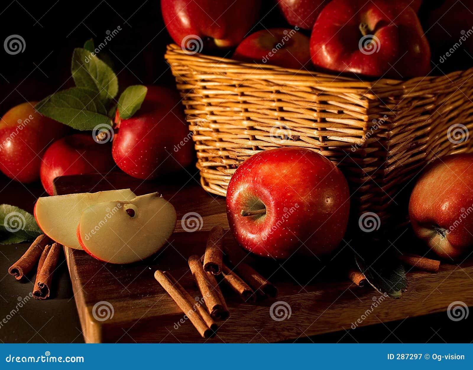 Jabłko cynamonowi kije