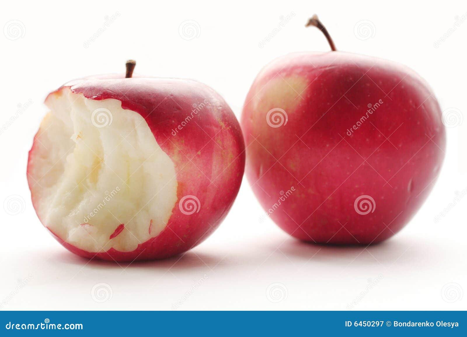 Jabłko czerwony 2