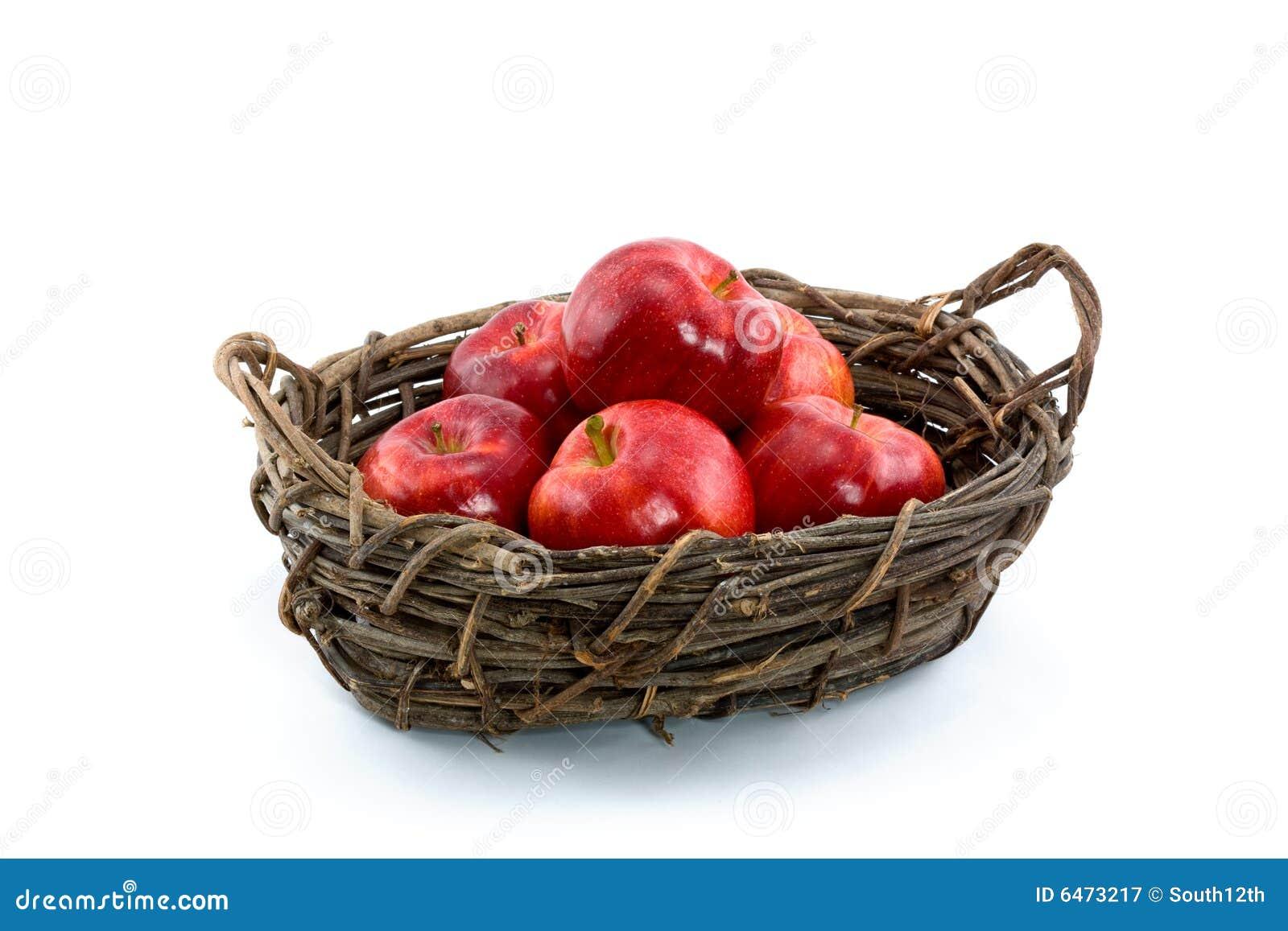 Jabłko koszykowa czerwona galowa willow