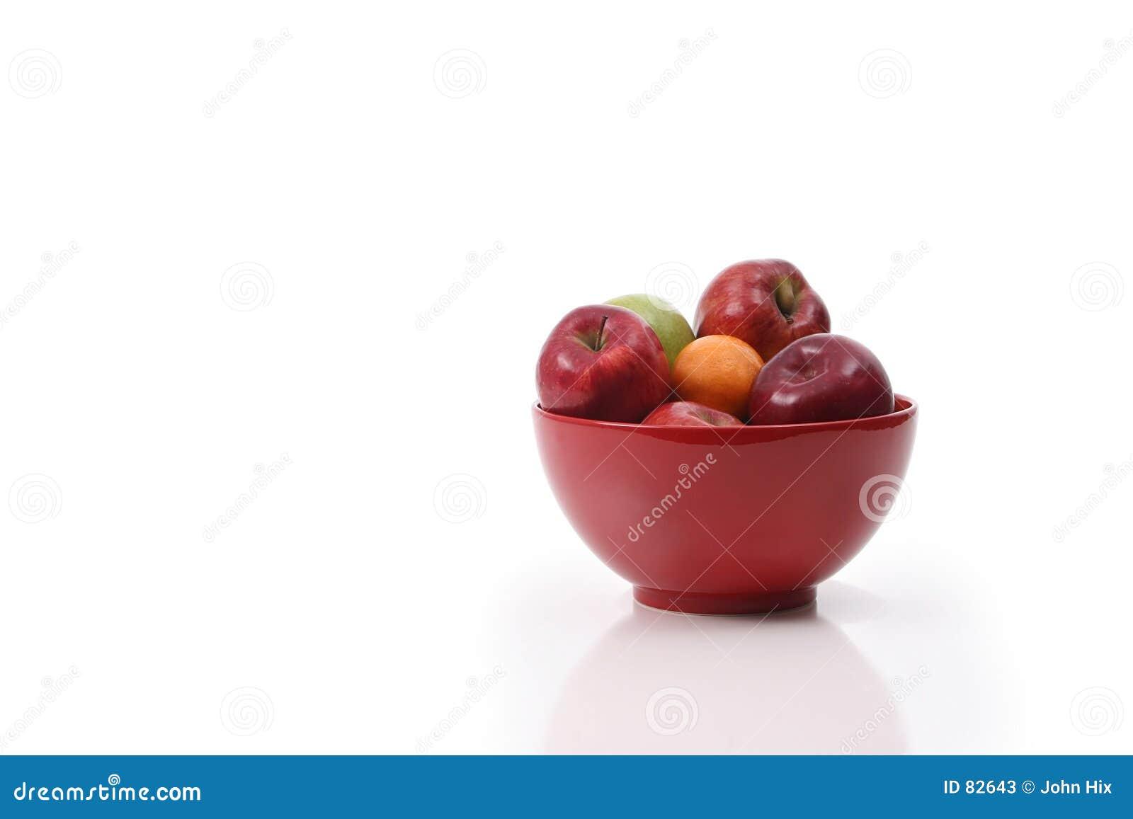 Jabłko miskę