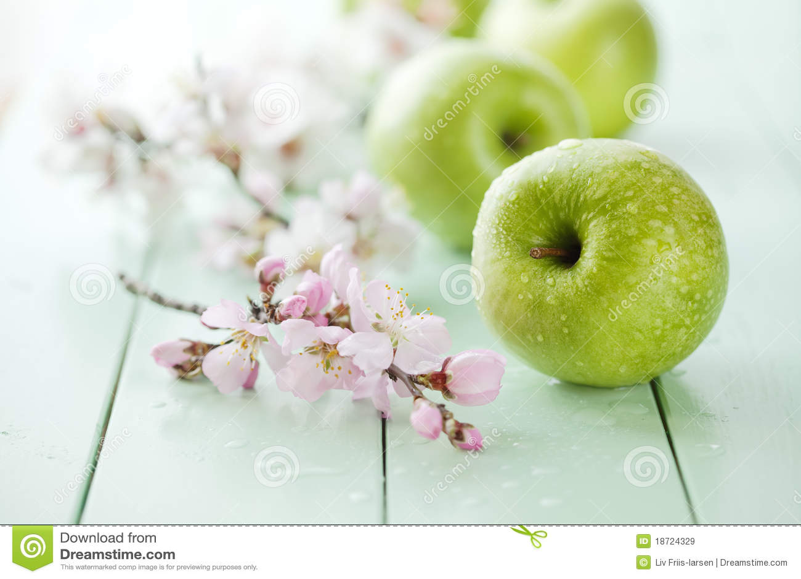Jabłko zieleń
