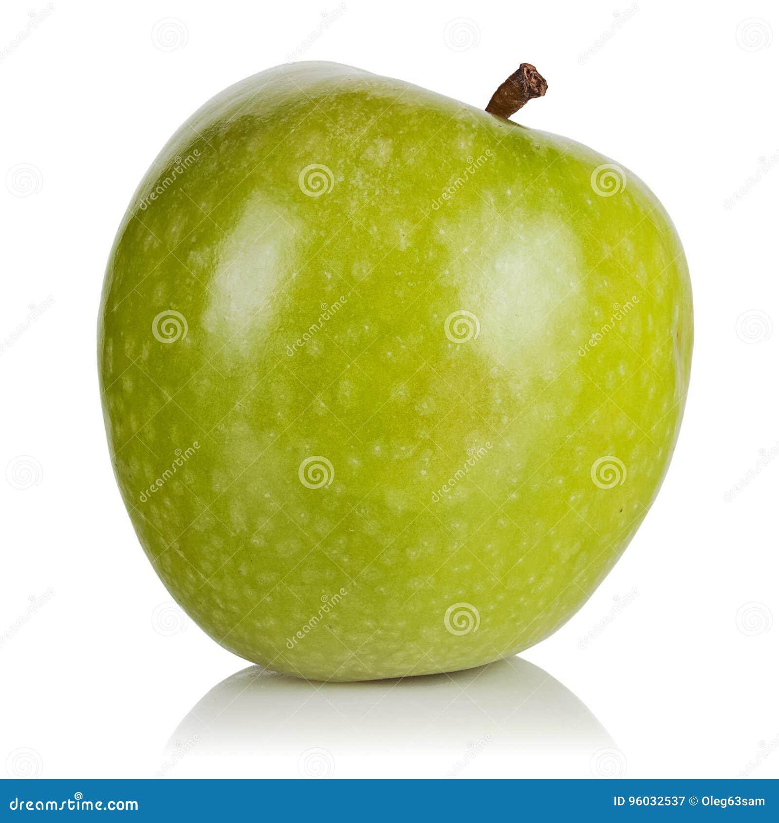 Jabłko - zielony dojrzały