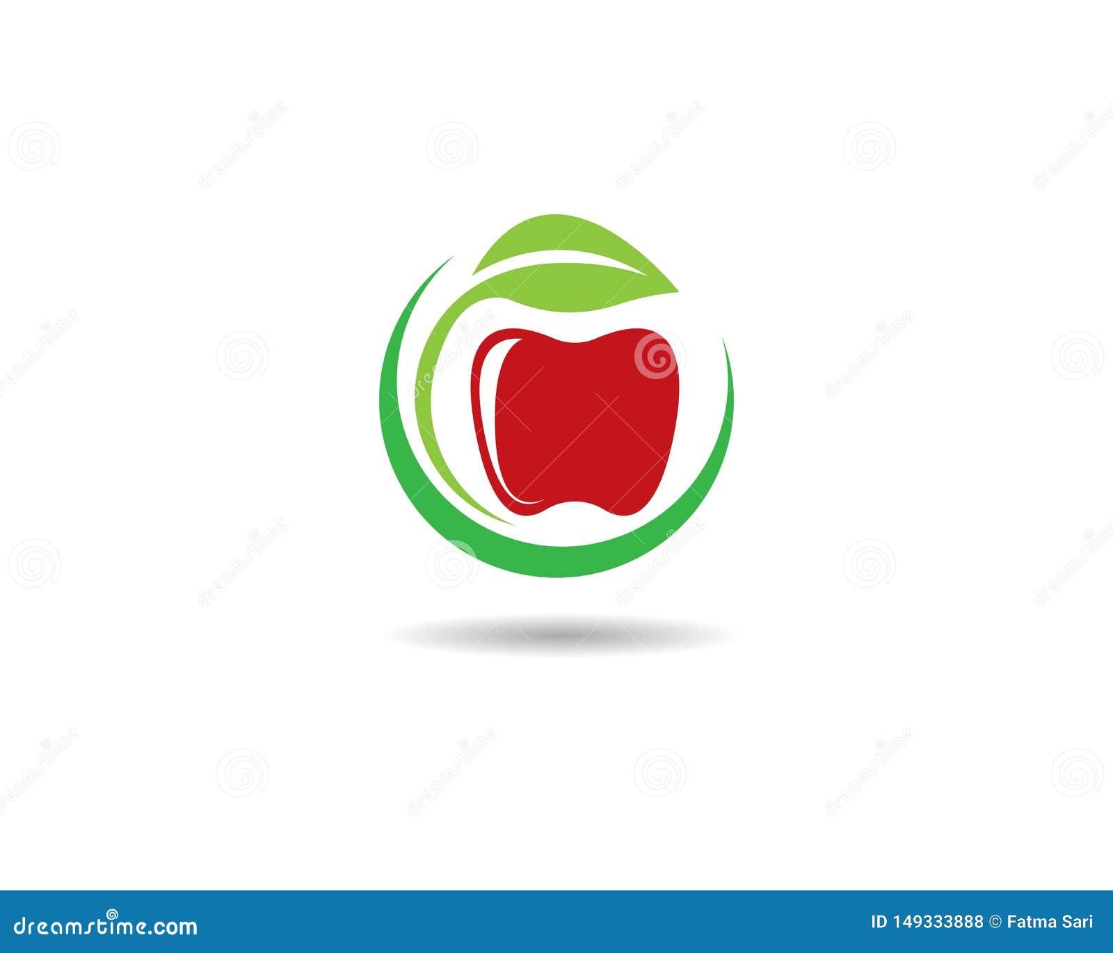 Jab?czany logo szablon