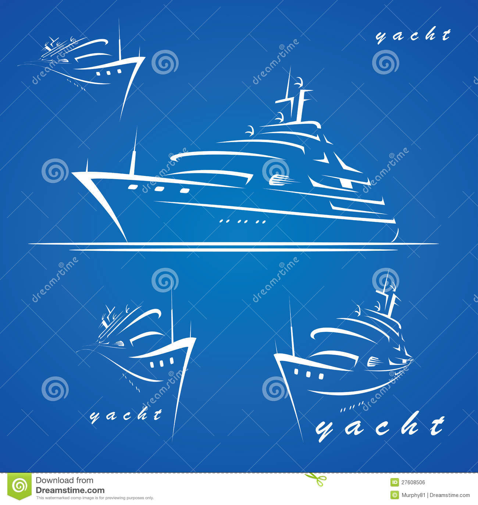 Jacht etykietki