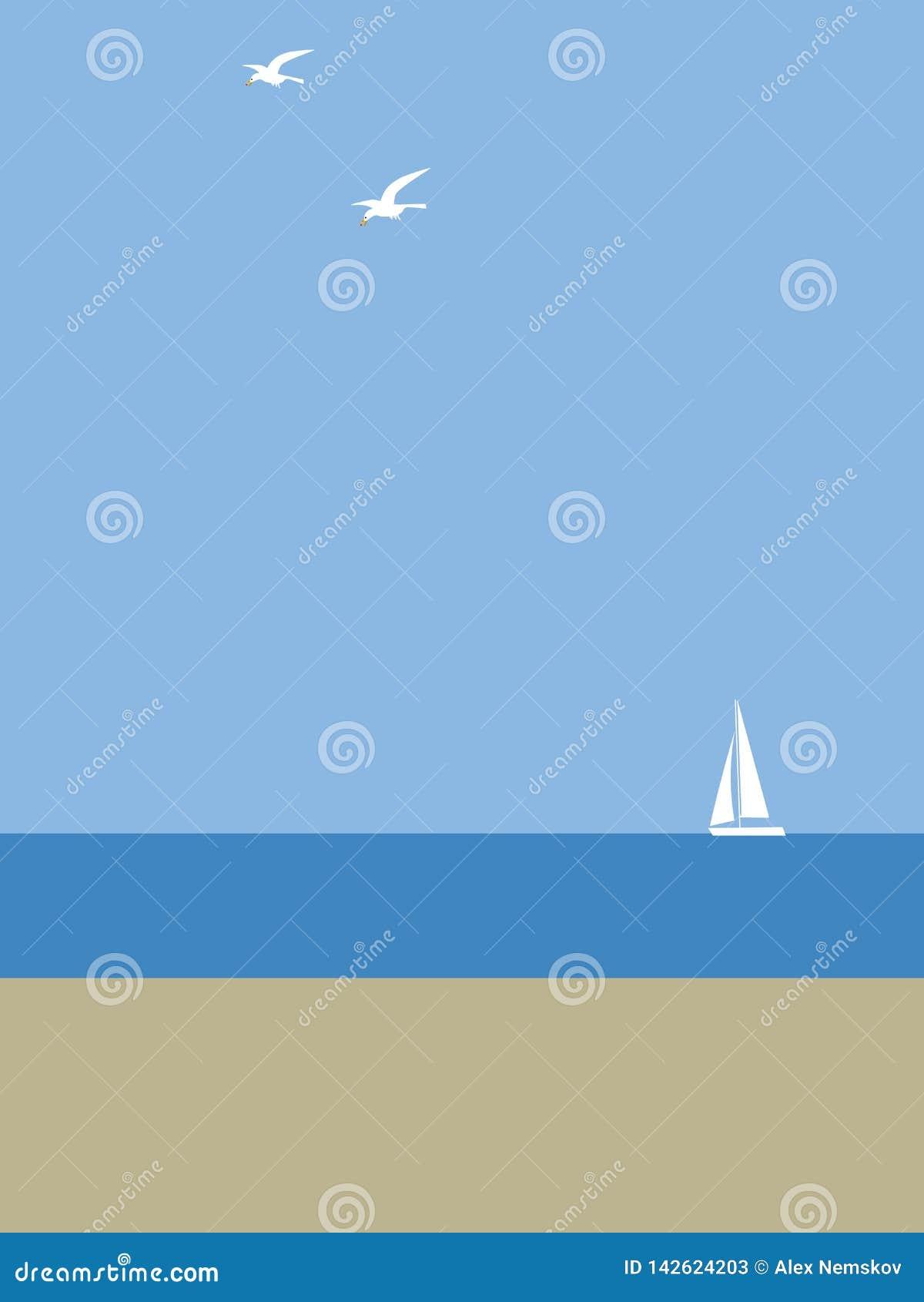 Jacht morzem
