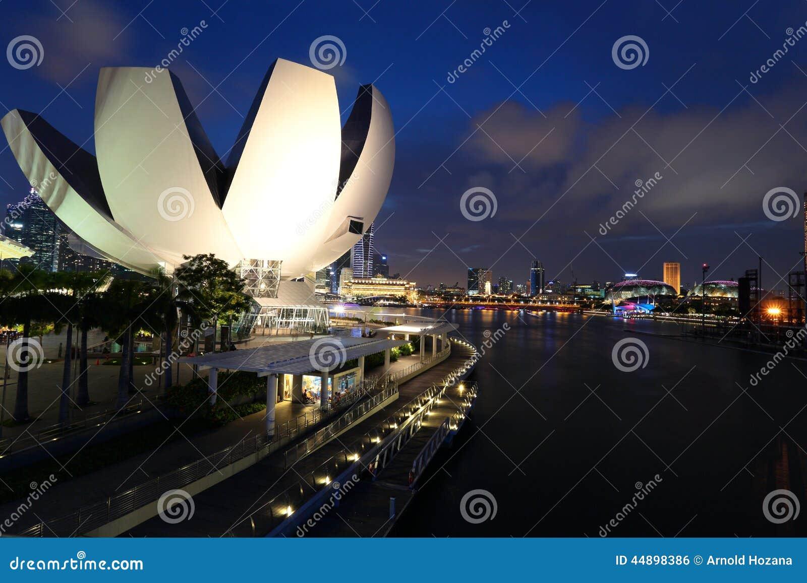 Jachthafen-Schacht, Singapur