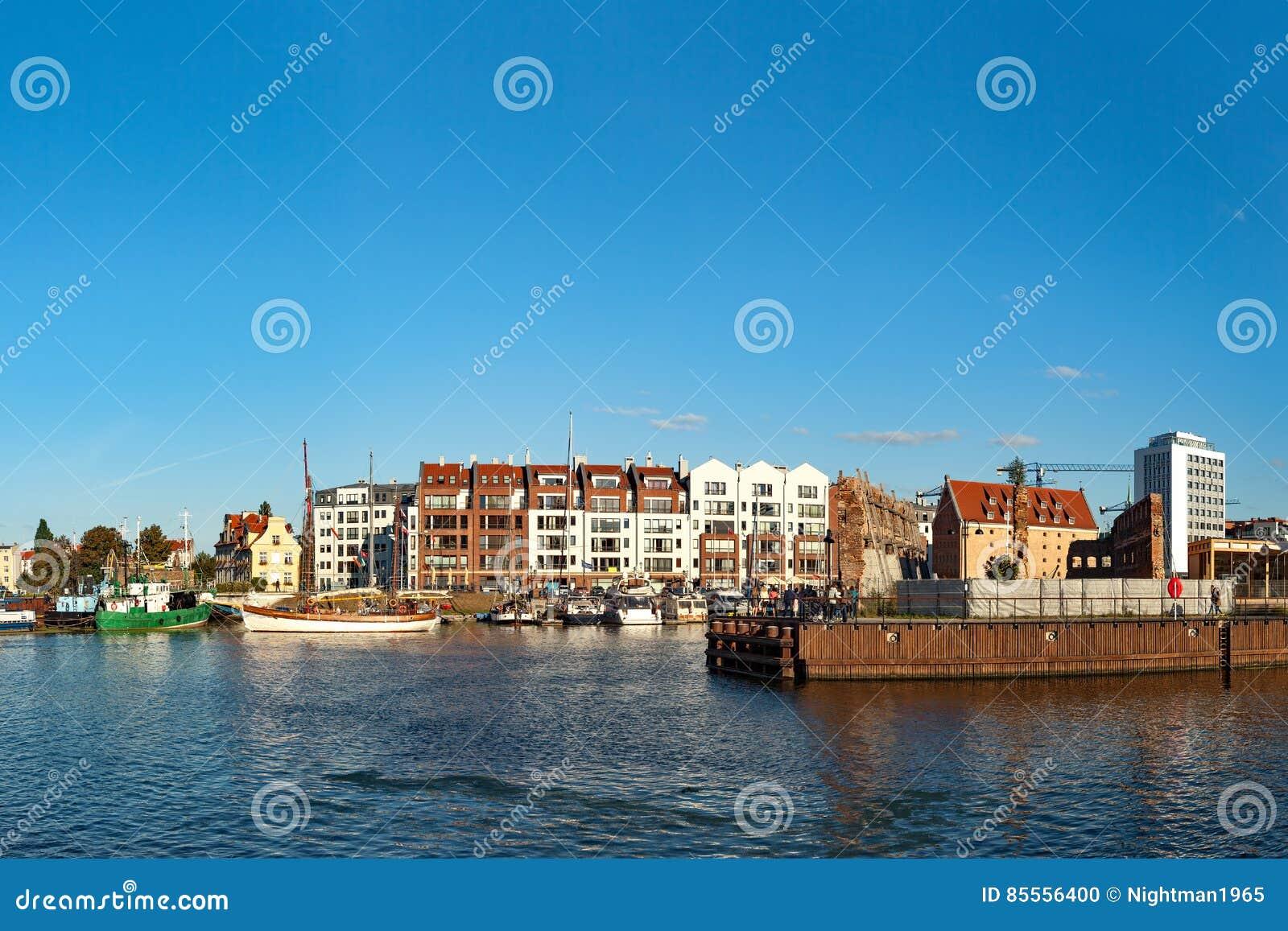 Jachthafen von Gdansk
