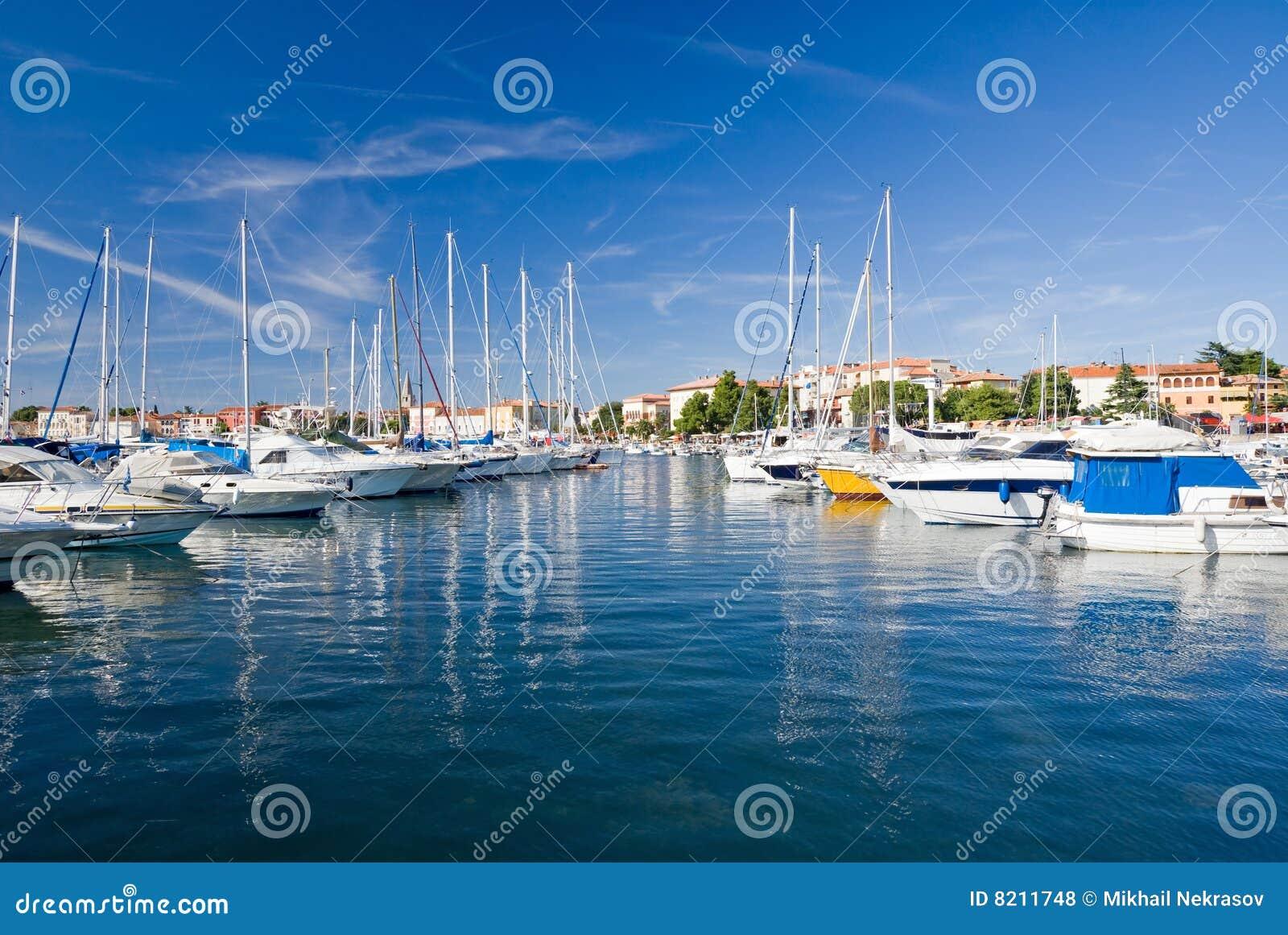 Jachthafen von Porec