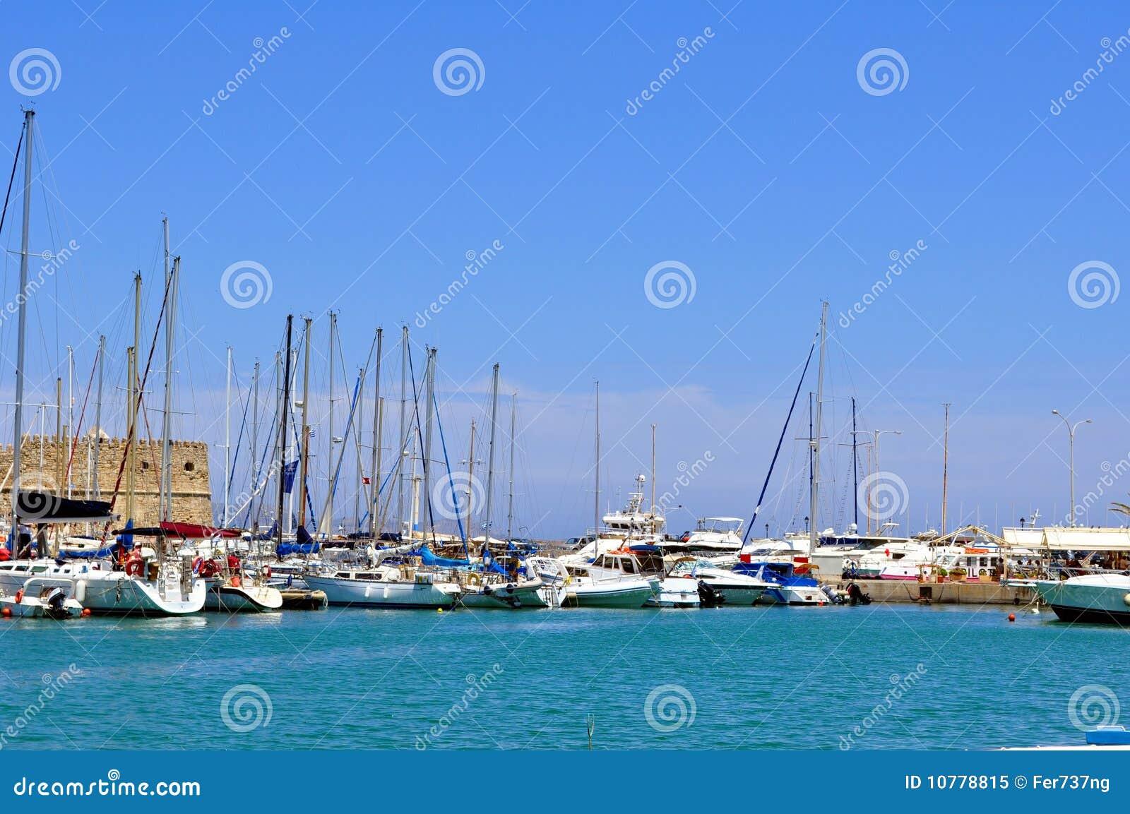 Jachthaven: Haven van Heraklion, Kreta, Griekenland