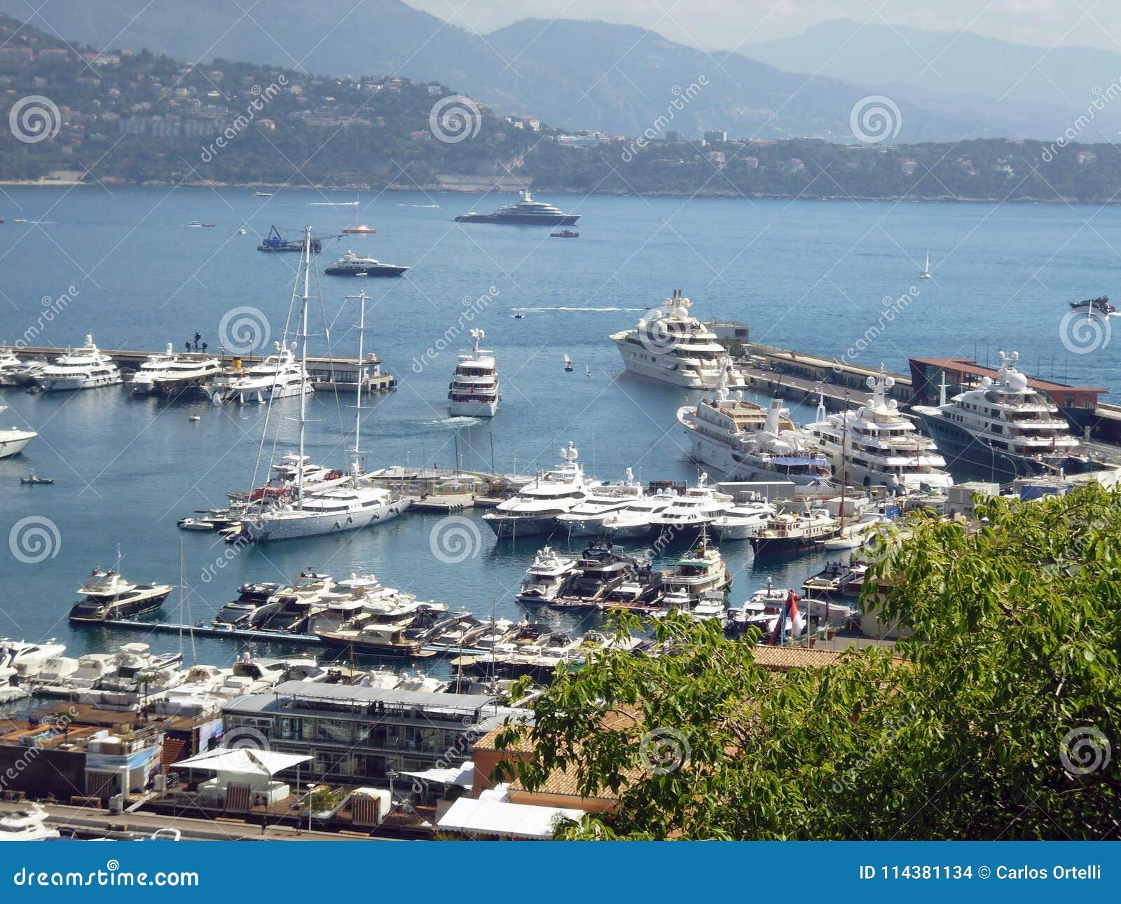 Jachthaven, Monaco