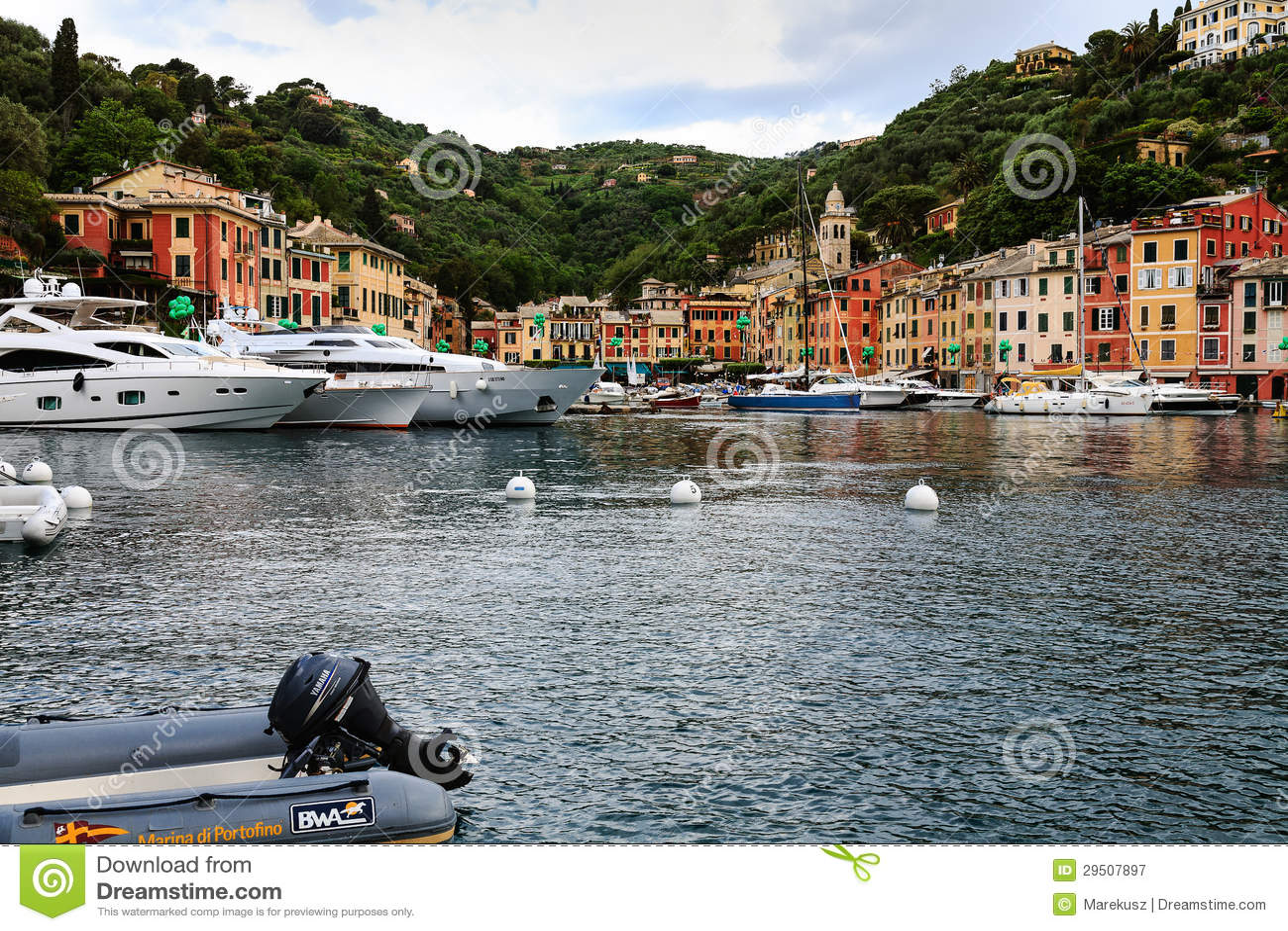 Jachthaven in Portofino