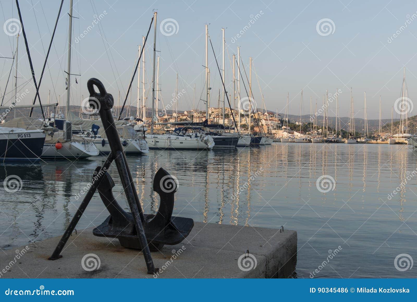 Jachthaven in Rogoznica