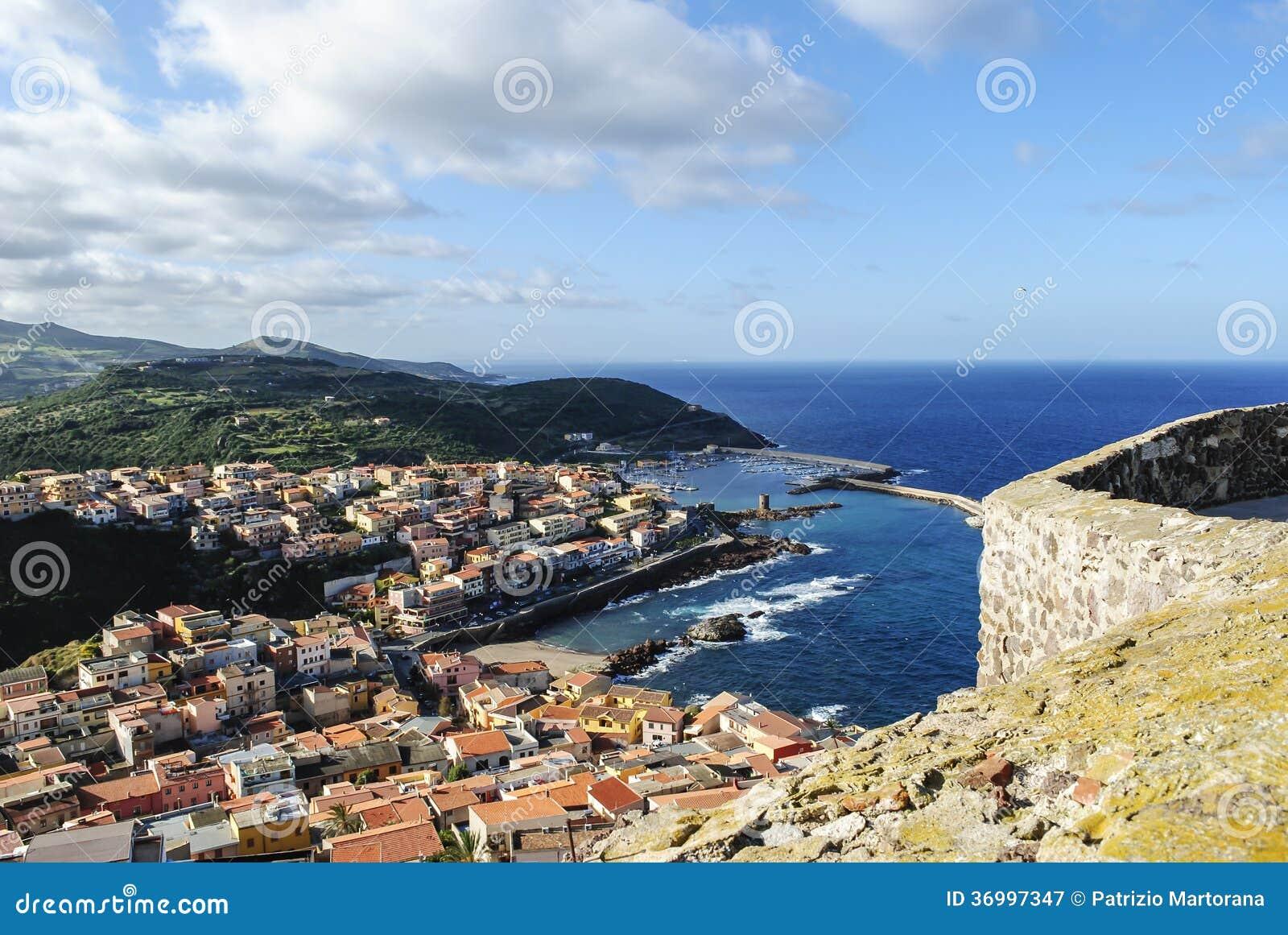 Jachthaven in Sardinige