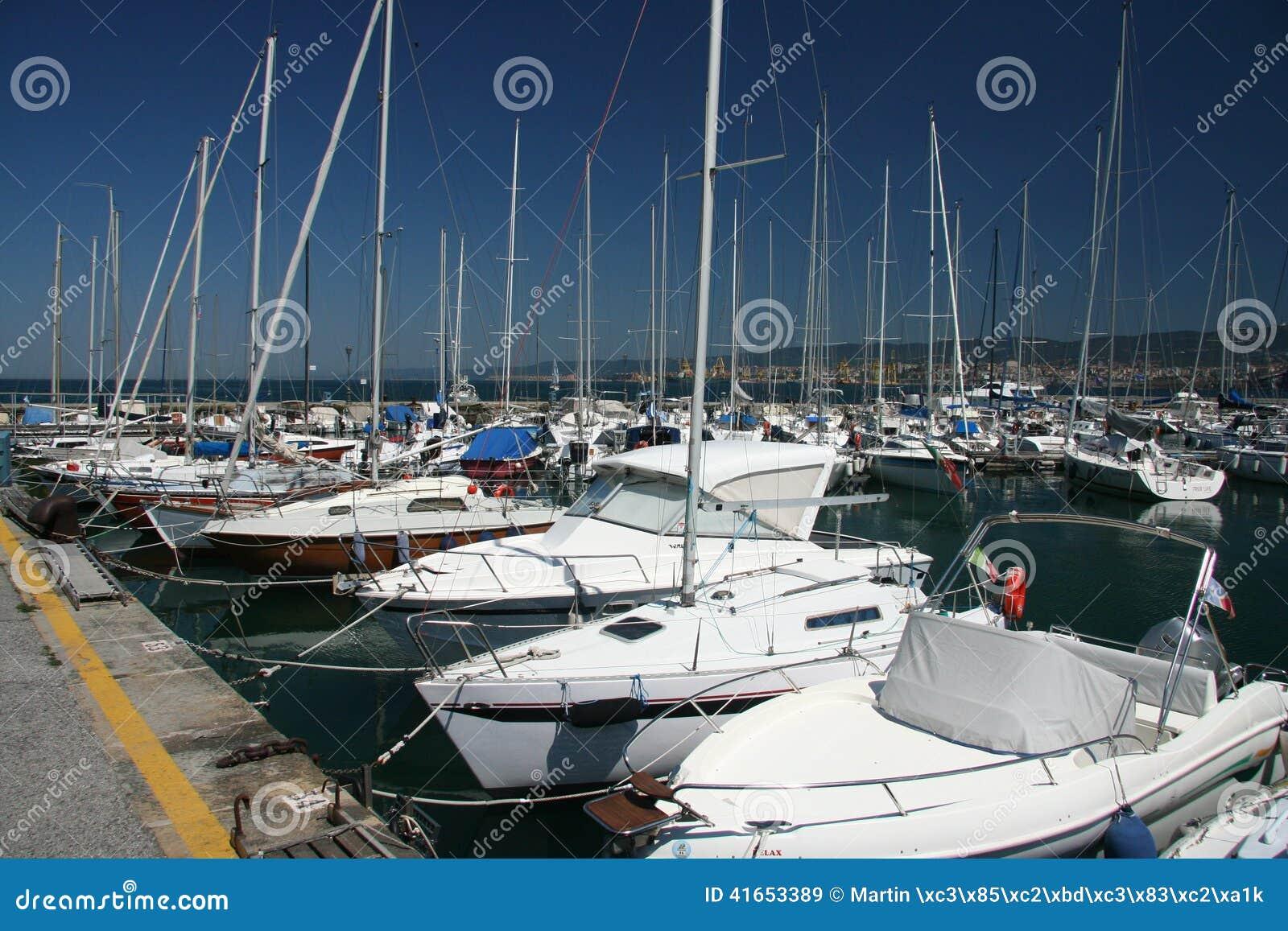 Jachts port_ Muggia