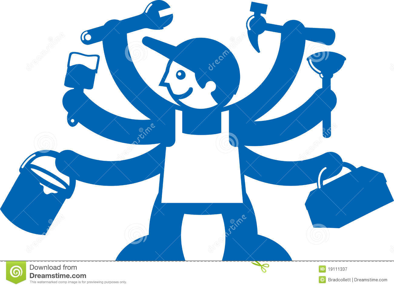 Jack Of All Trades Royalty Free Stock Photography - Image: 19111337