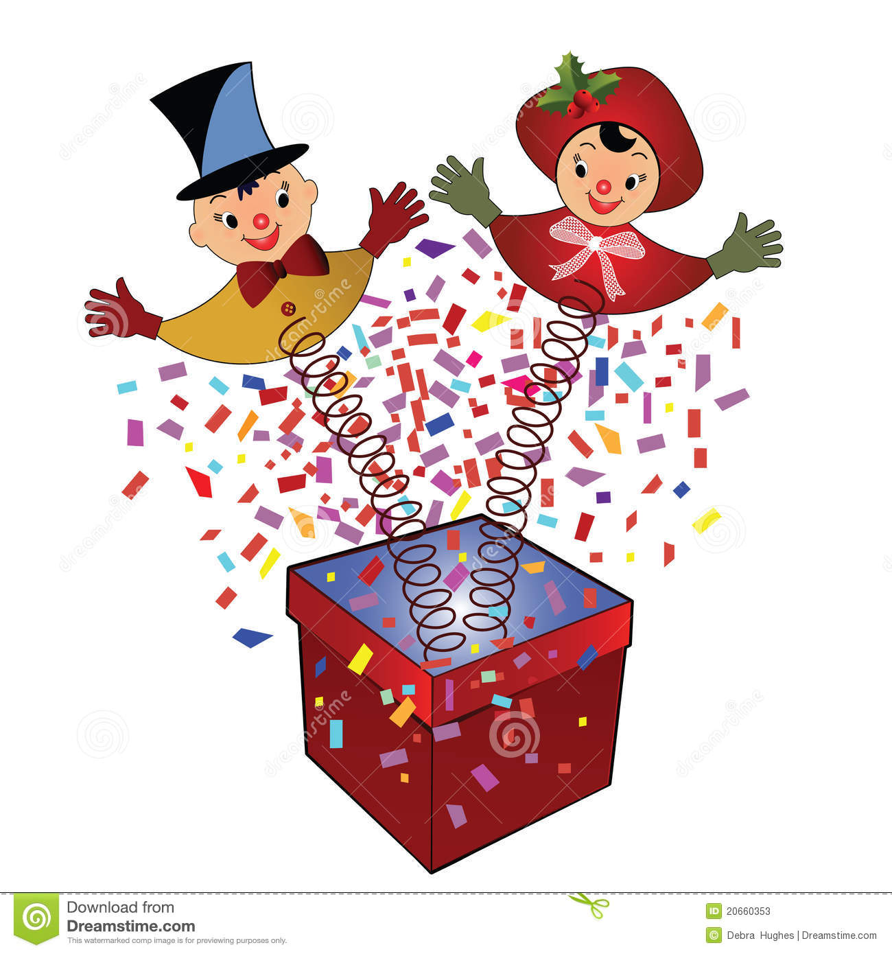 Jack-in-the-Box - Toy Stock Photos - Image: 20660353